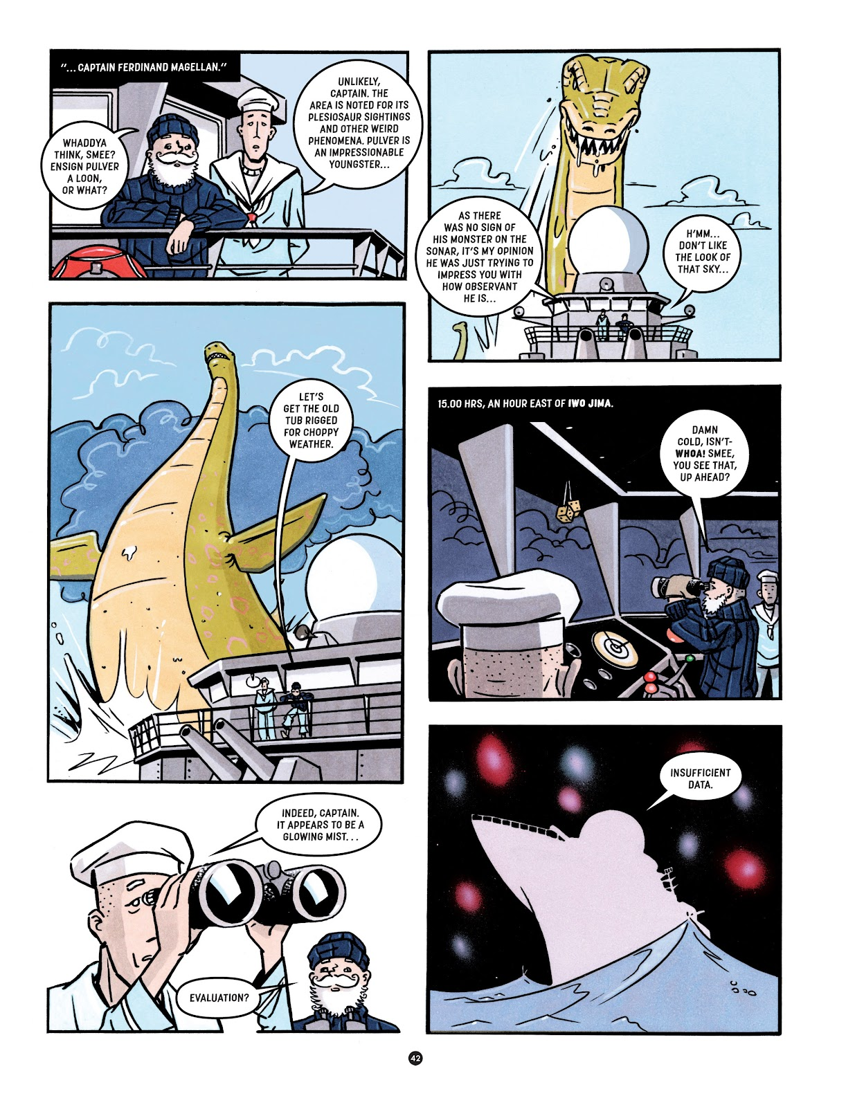 Read online Tales from Beyond Science comic -  Issue # TPB - 43