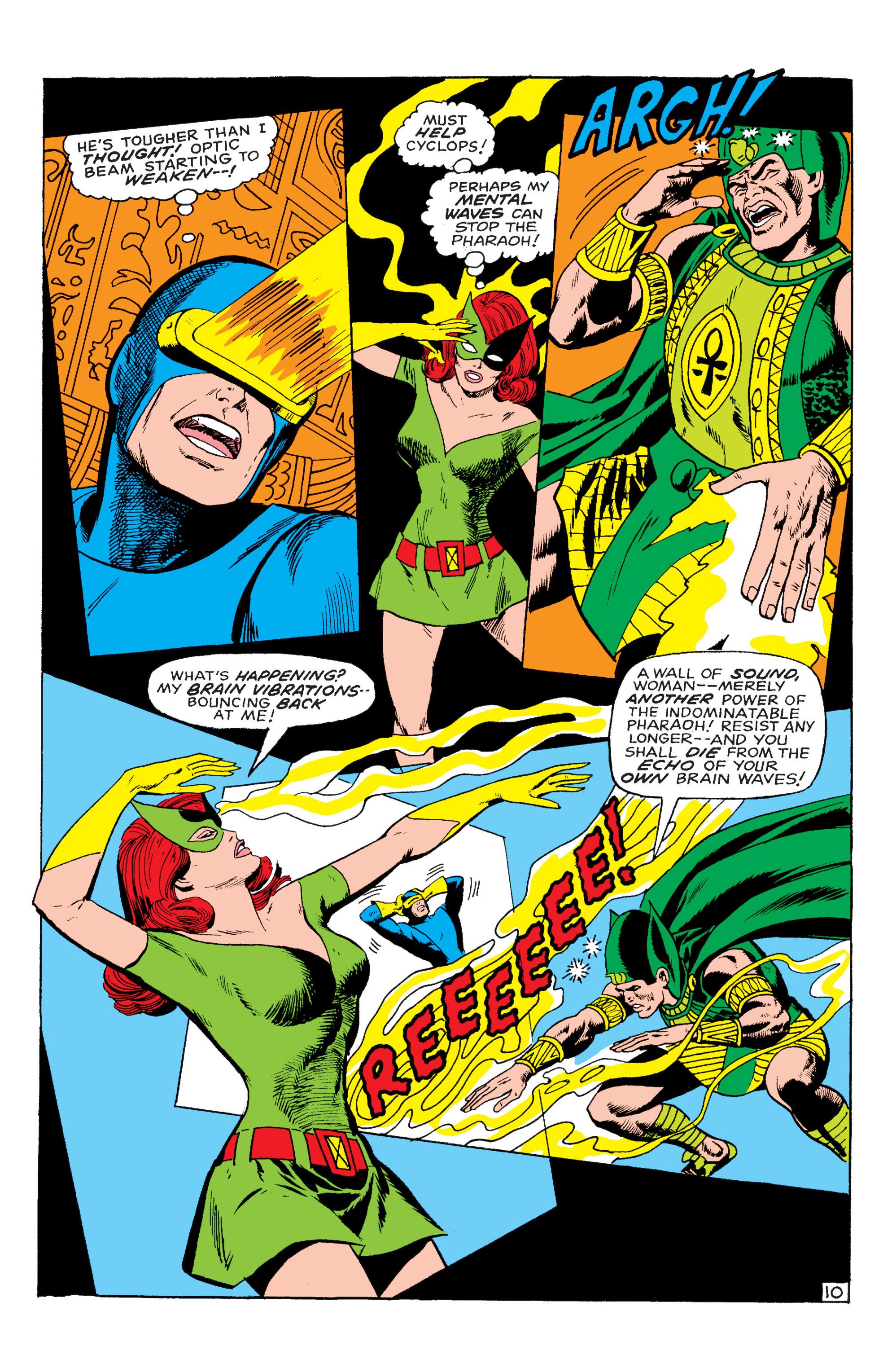 Read online Uncanny X-Men (1963) comic -  Issue #54 - 11