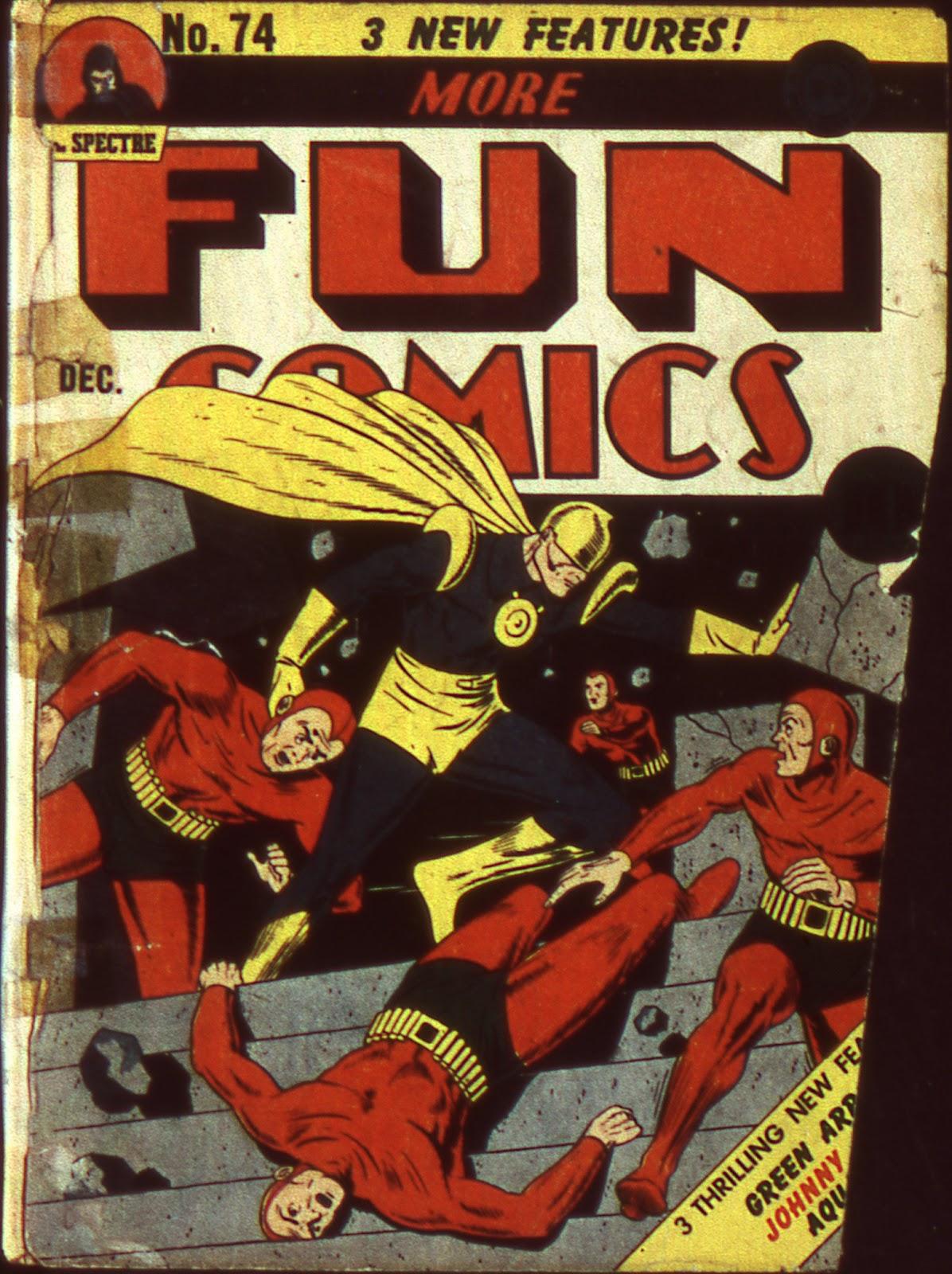More Fun Comics 74 Page 1