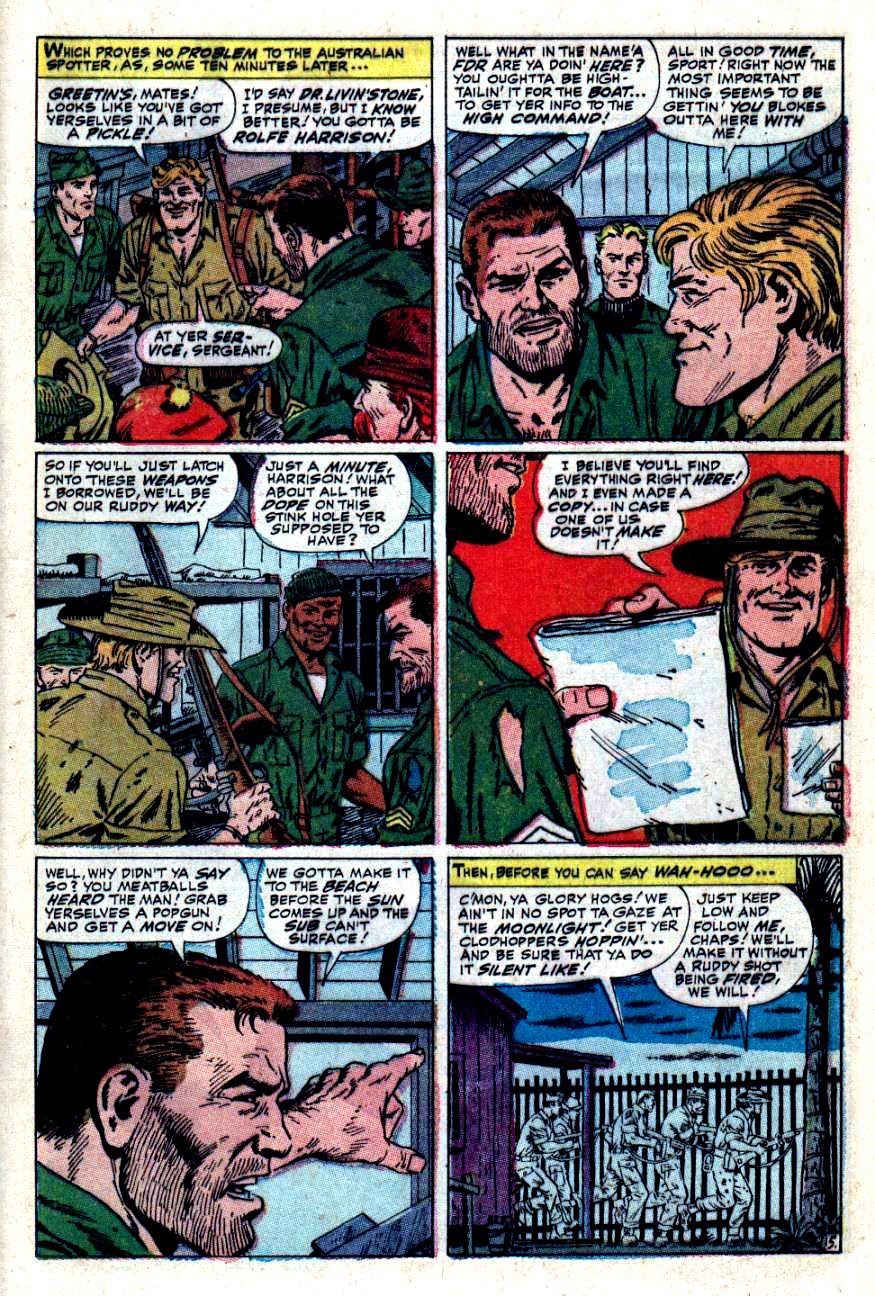 Read online Sgt. Fury comic -  Issue #49 - 21