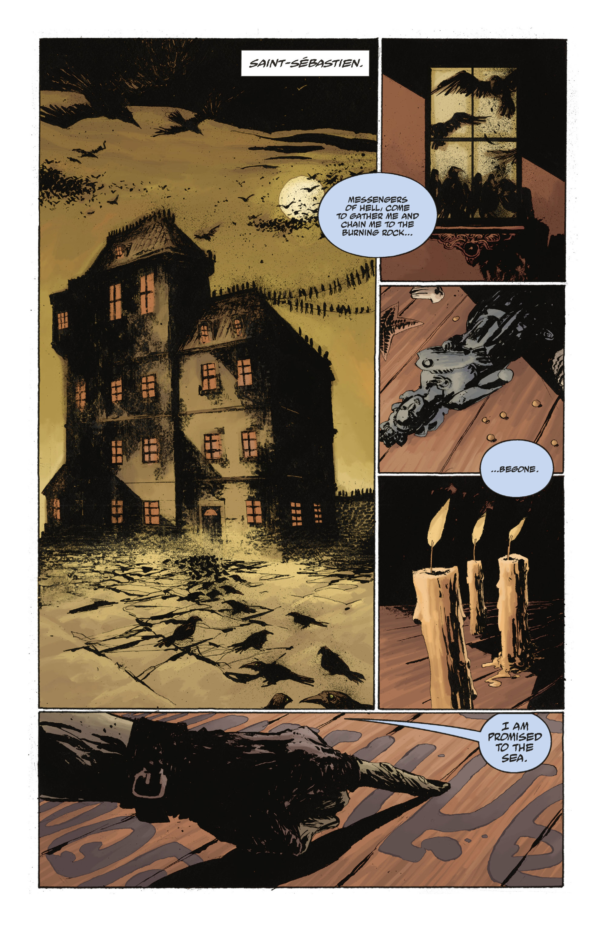 Read online Abe Sapien: The Drowning comic -  Issue #Abe Sapien: The Drowning _TPB - 87
