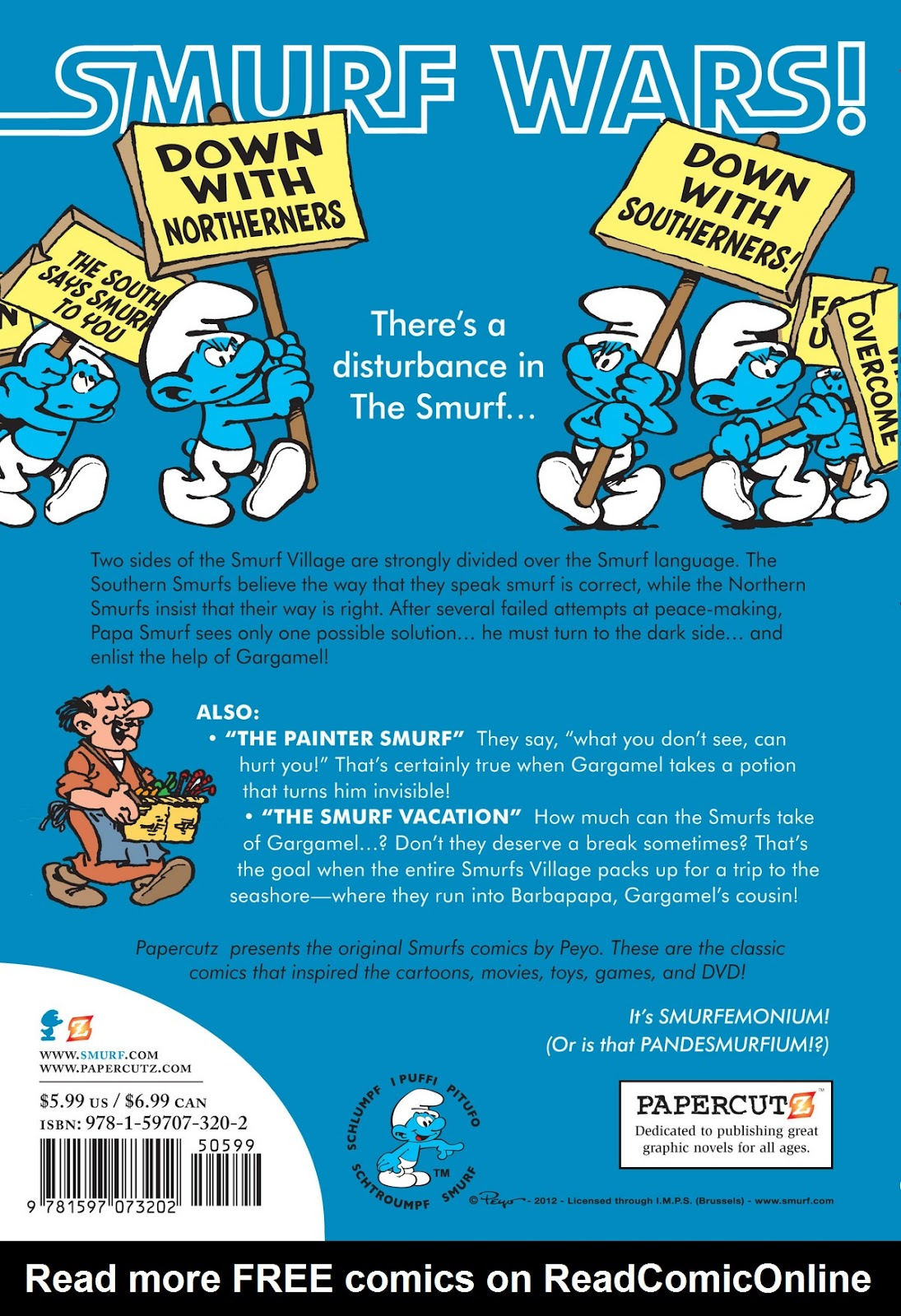 Read online The Smurfs comic -  Issue #12 - 57