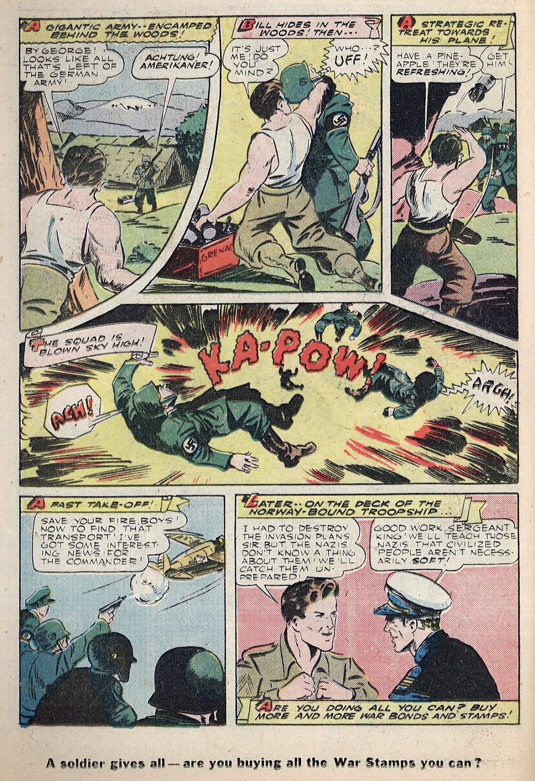 Exciting Comics (1940) issue 38 - Page 32