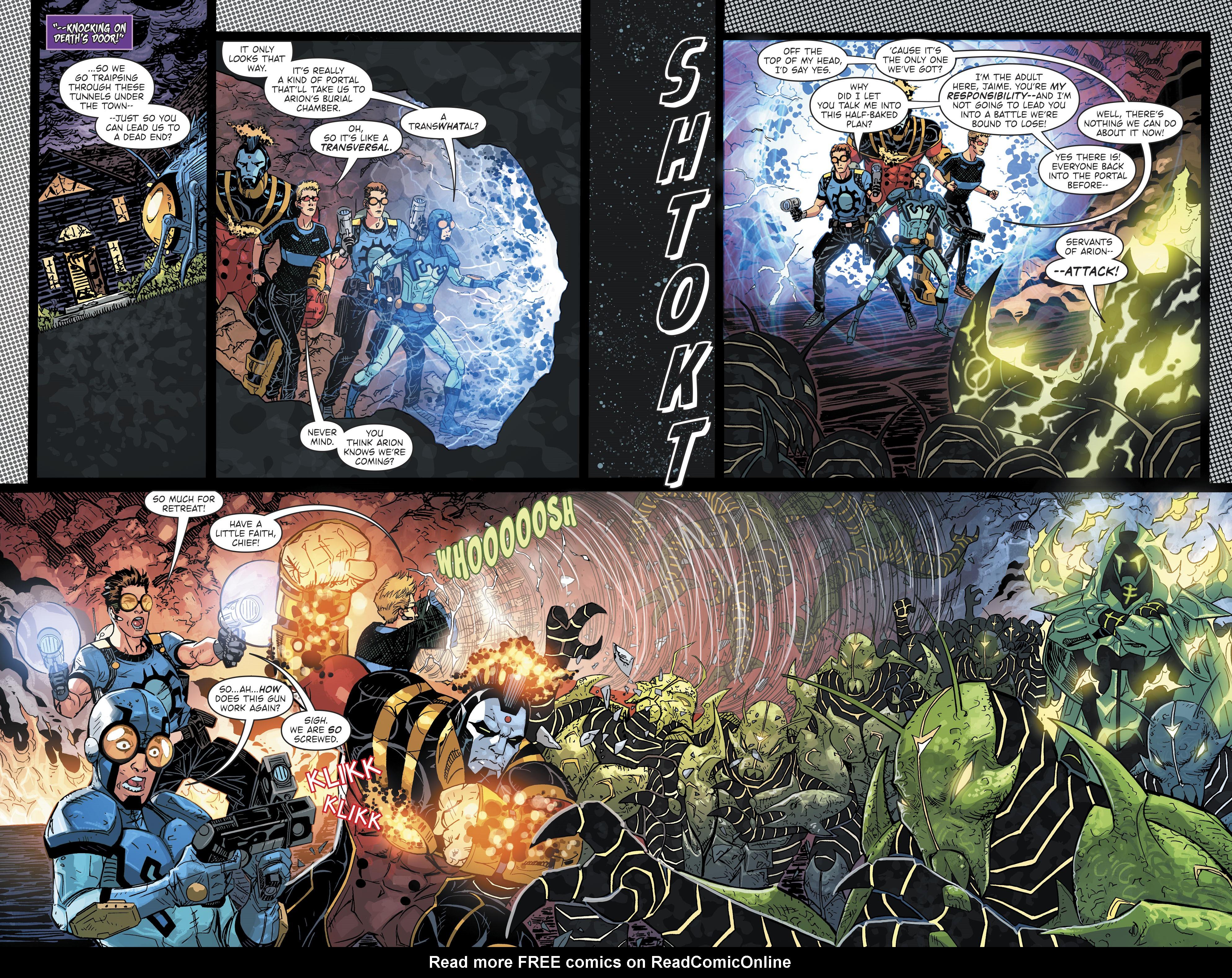 Read online Blue Beetle (2016) comic -  Issue #9 - 16
