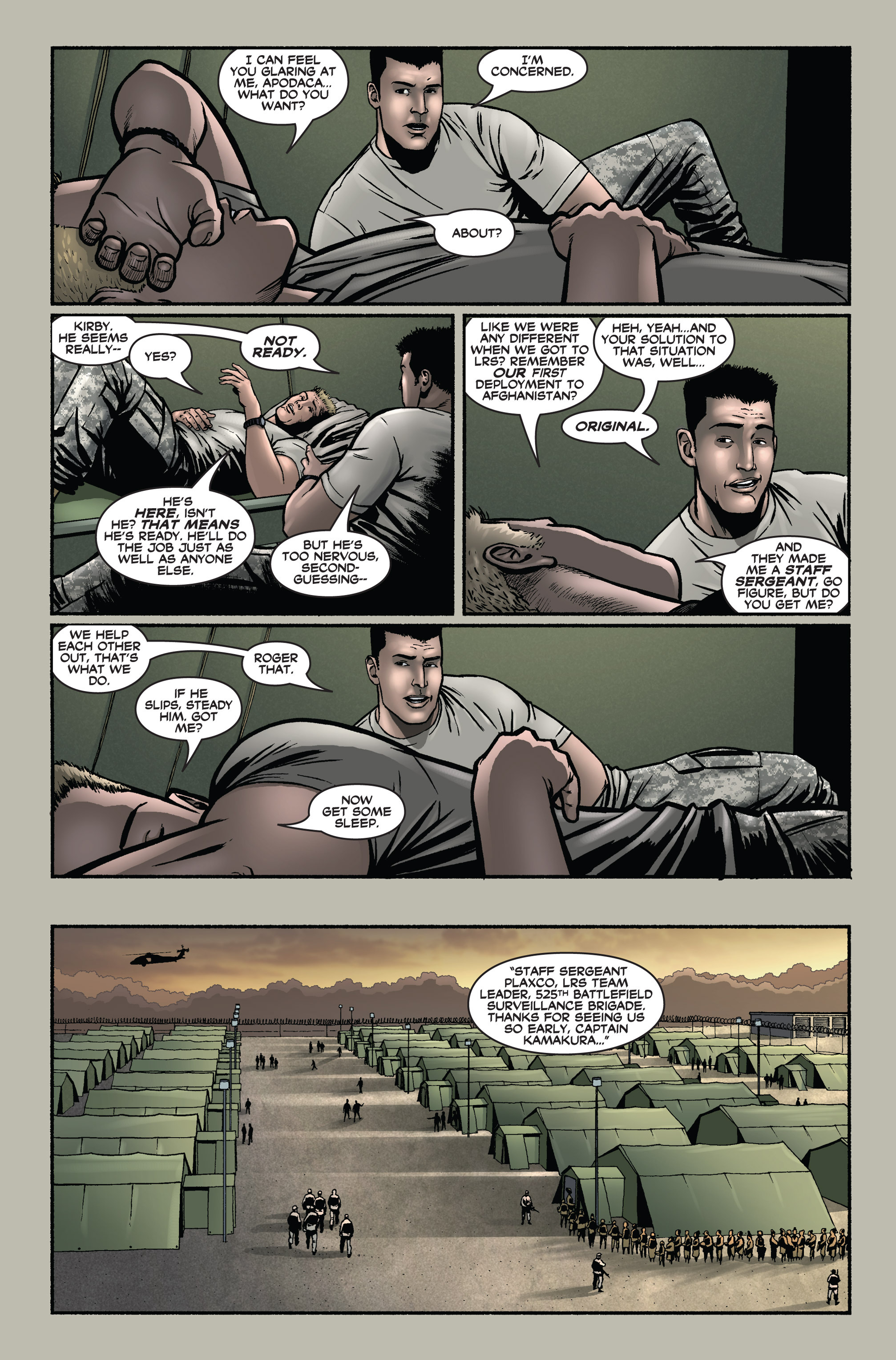Read online America's Army comic -  Issue #1 - 9