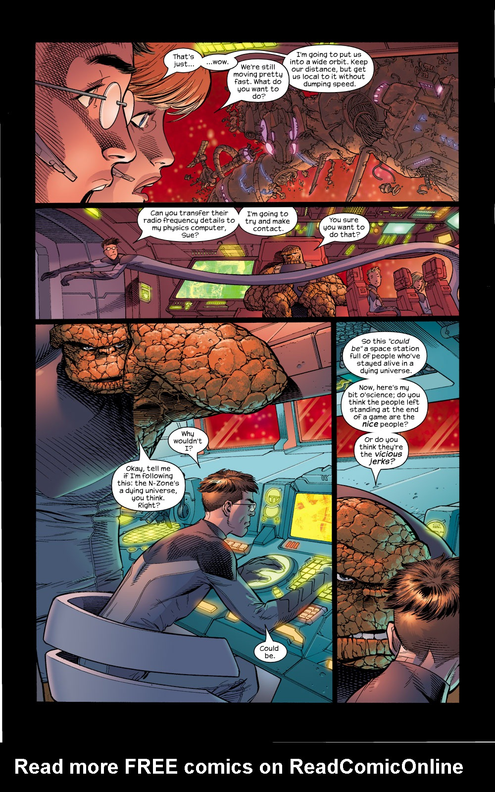 Read online Ultimate Fantastic Four (2004) comic -  Issue #15 - 16