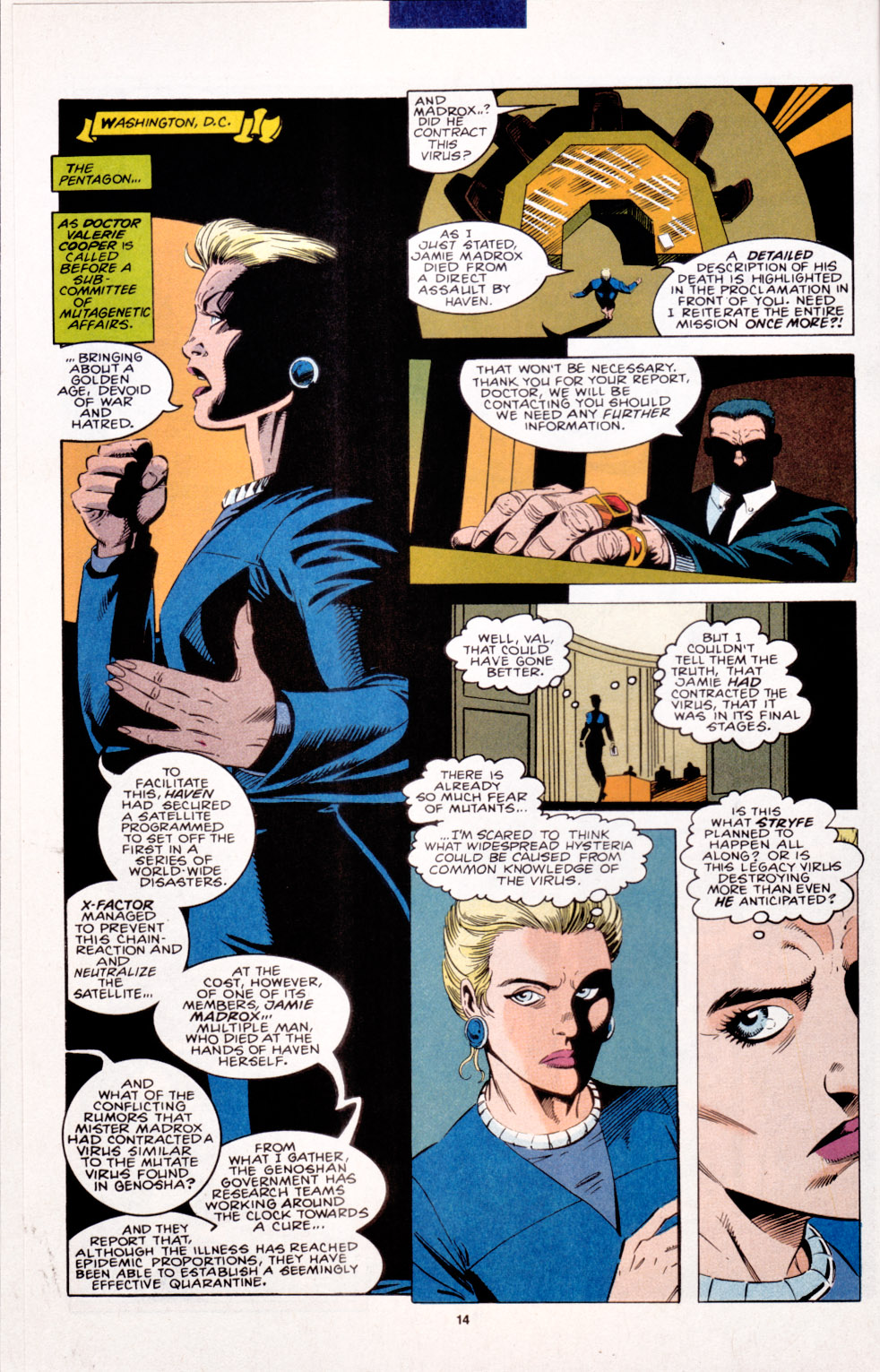Read online X-Factor (1986) comic -  Issue #103 - 10