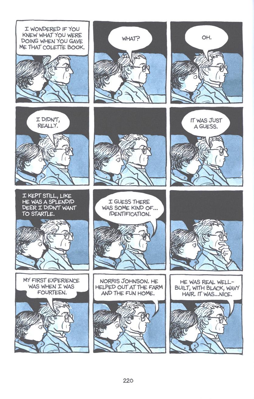 Read online Fun Home: A Family Tragicomic comic -  Issue # TPB - 226