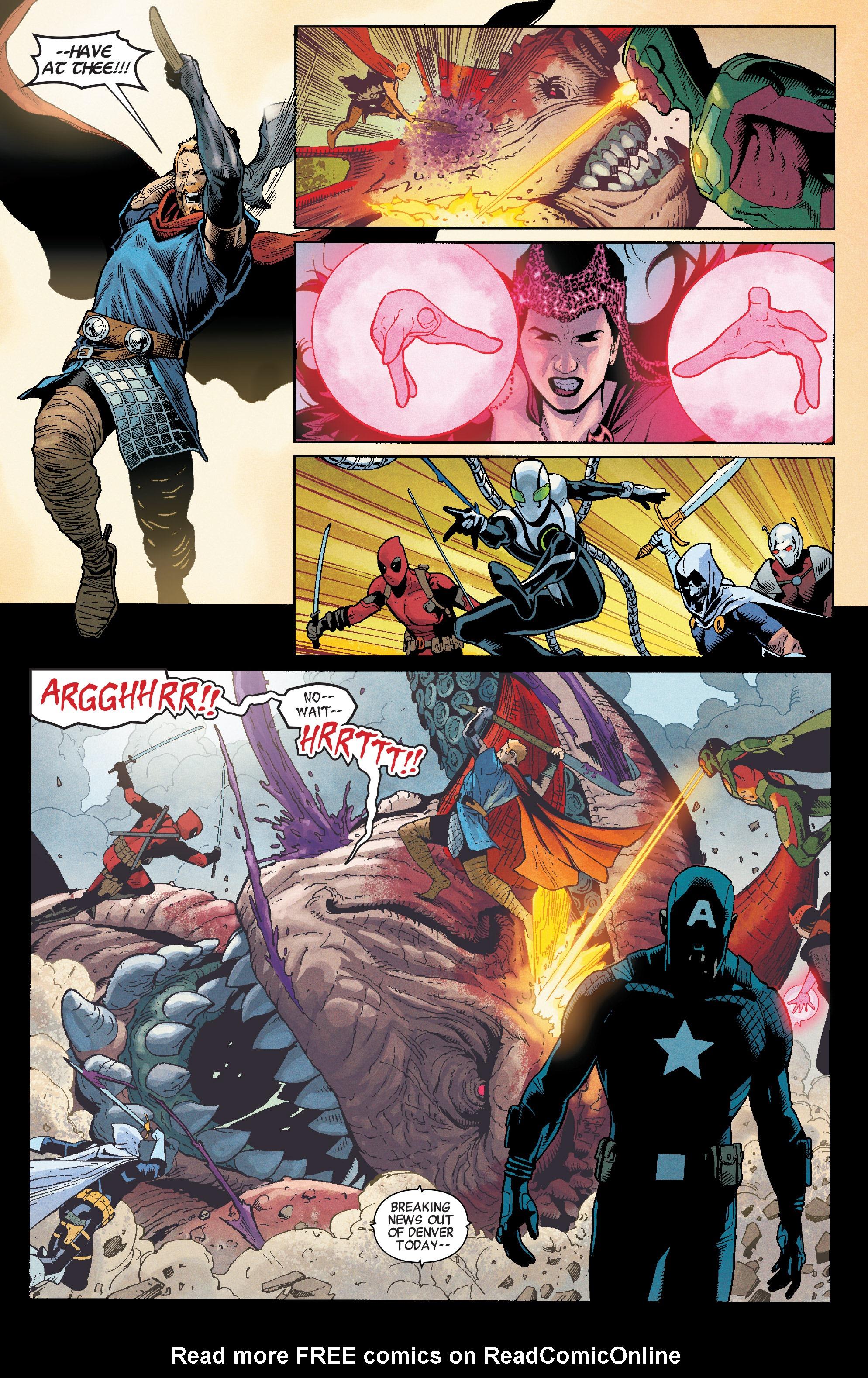 Read online Secret Empire comic -  Issue #1 - 17