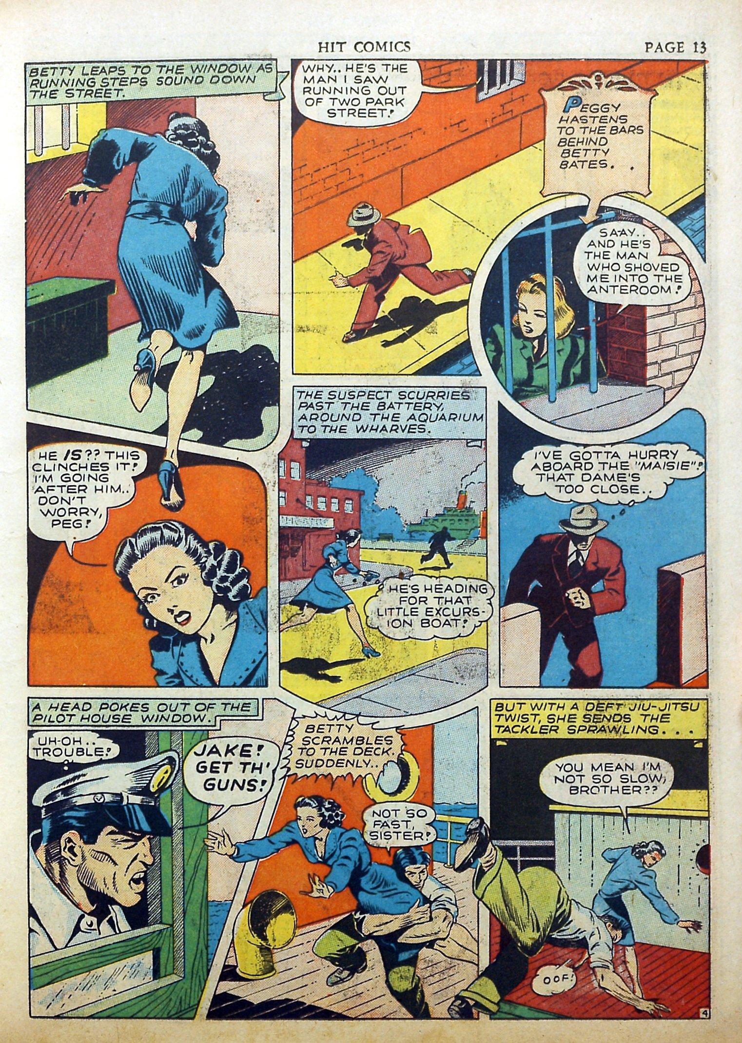 Read online Hit Comics comic -  Issue #17 - 15