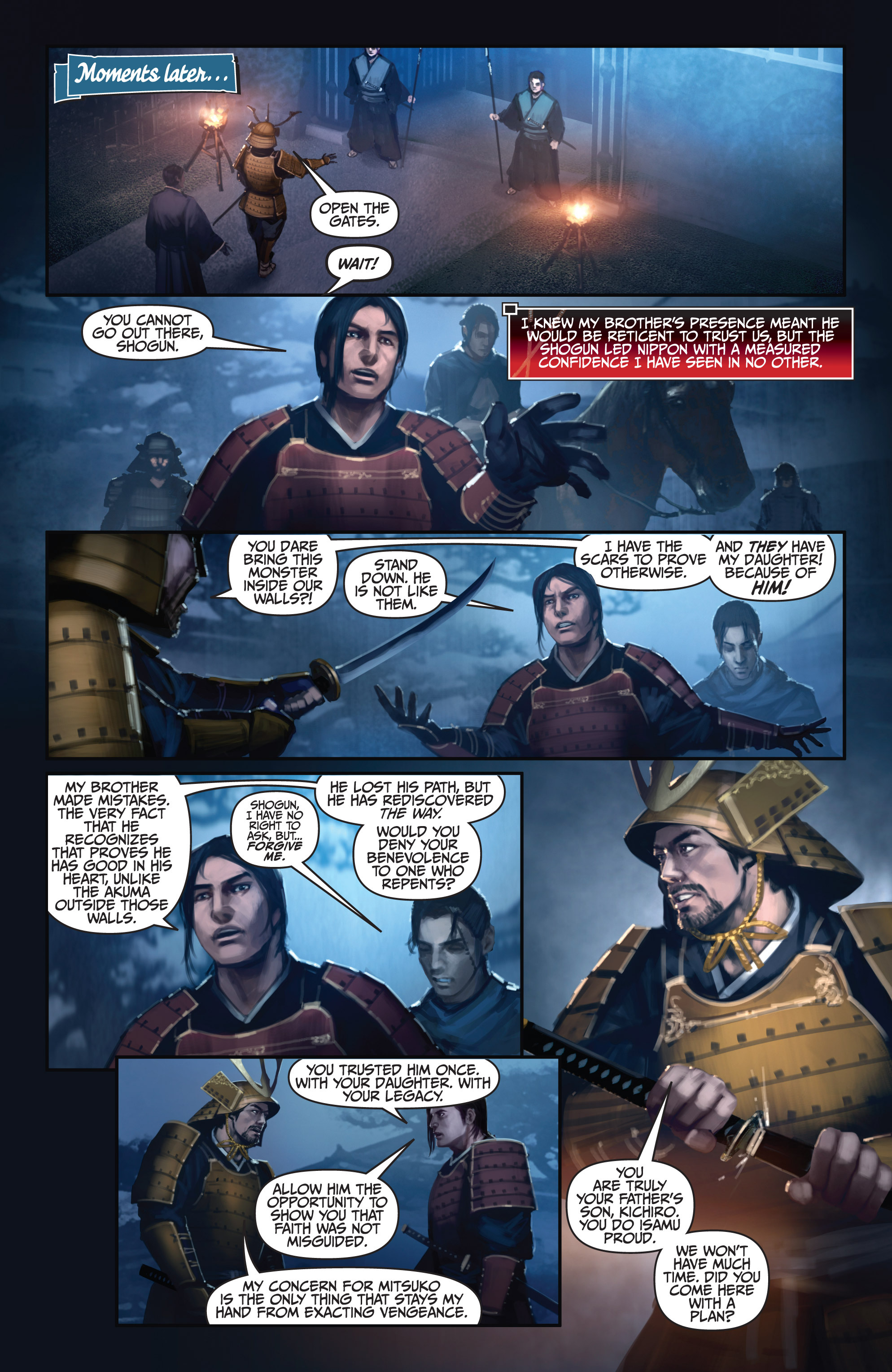 Read online Bushido: The Way of the Warrior comic -  Issue #5 - 8