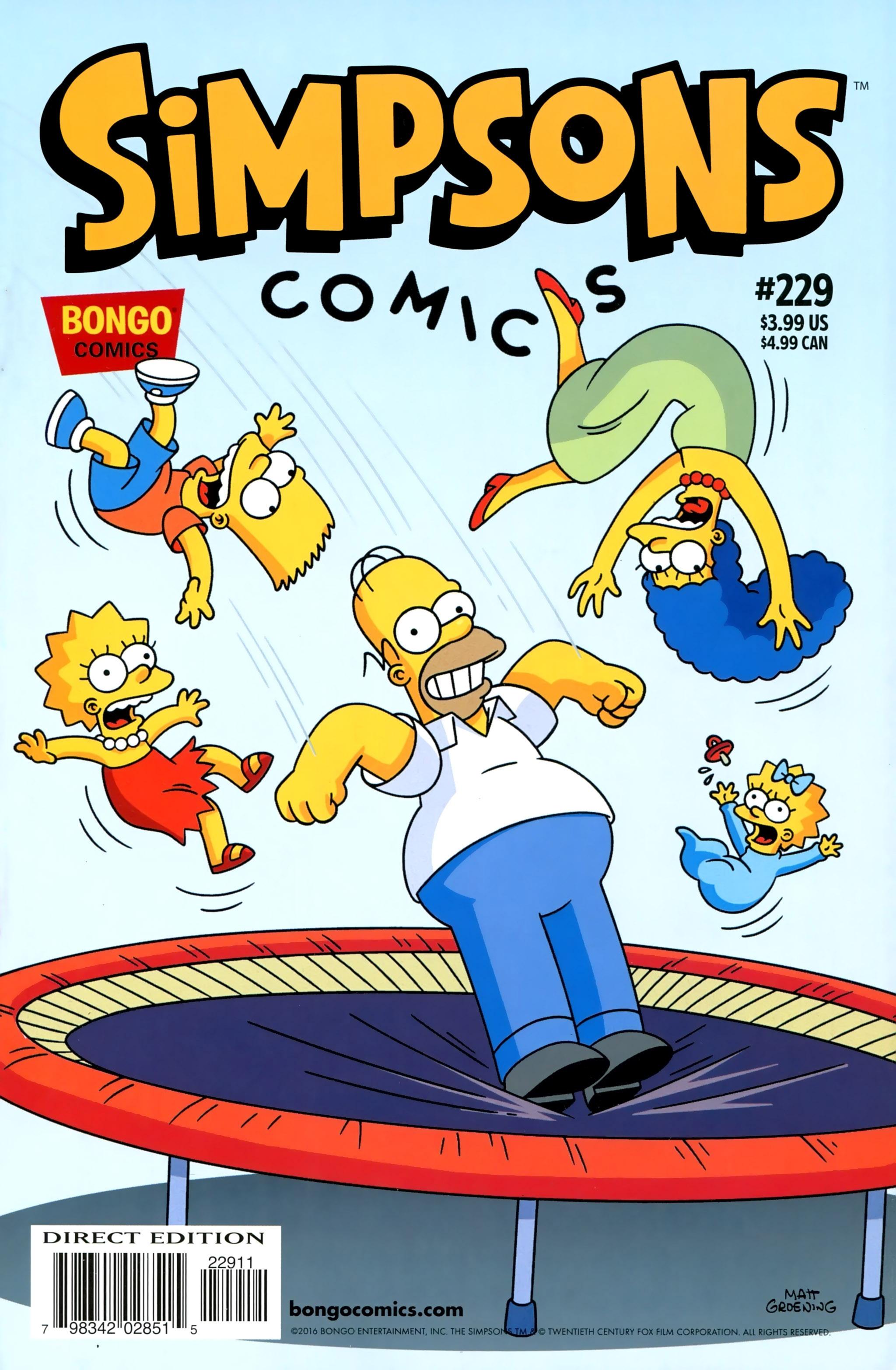 Read online Simpsons Comics comic -  Issue #229 - 1
