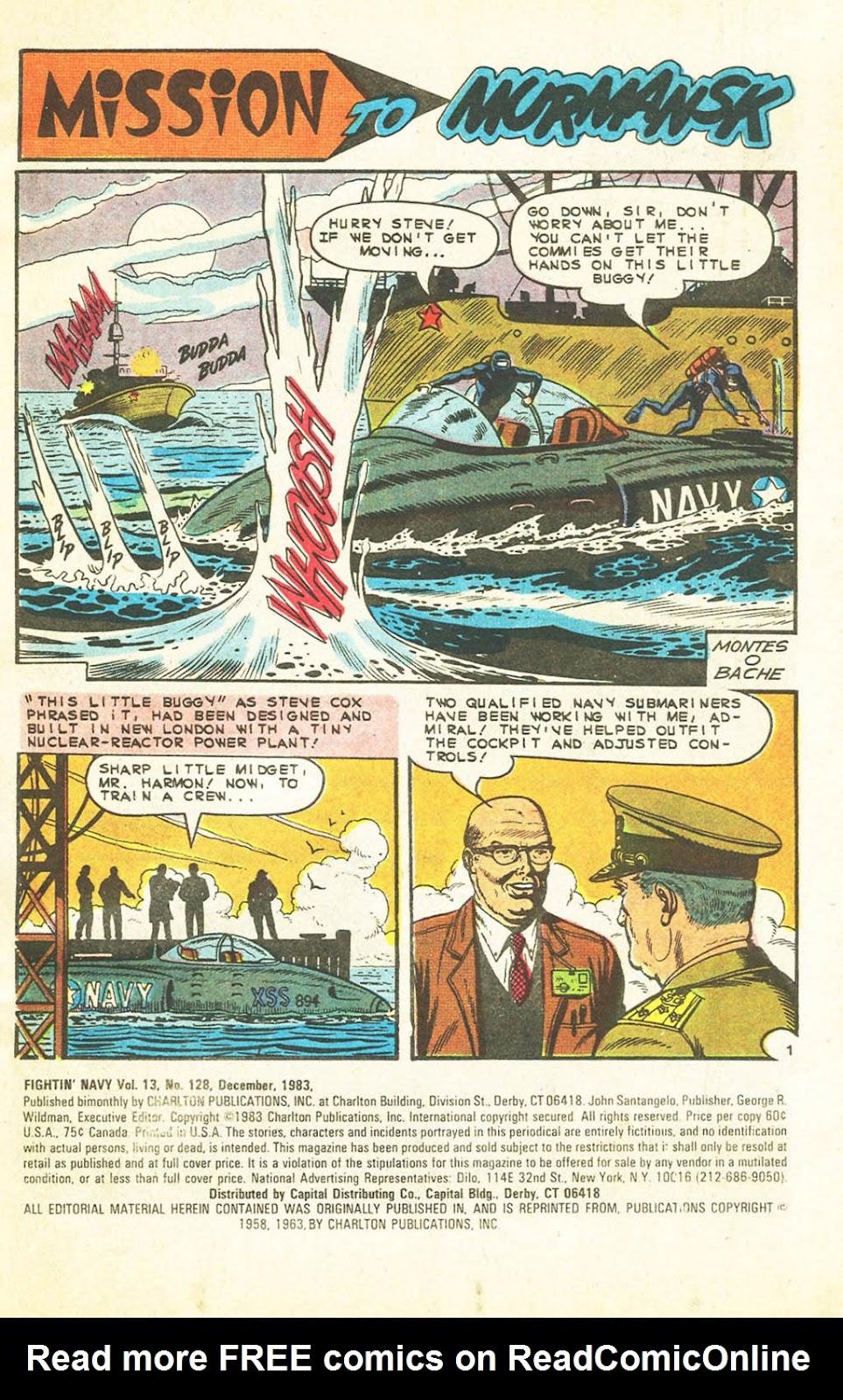 Read online Fightin' Navy comic -  Issue #128 - 2
