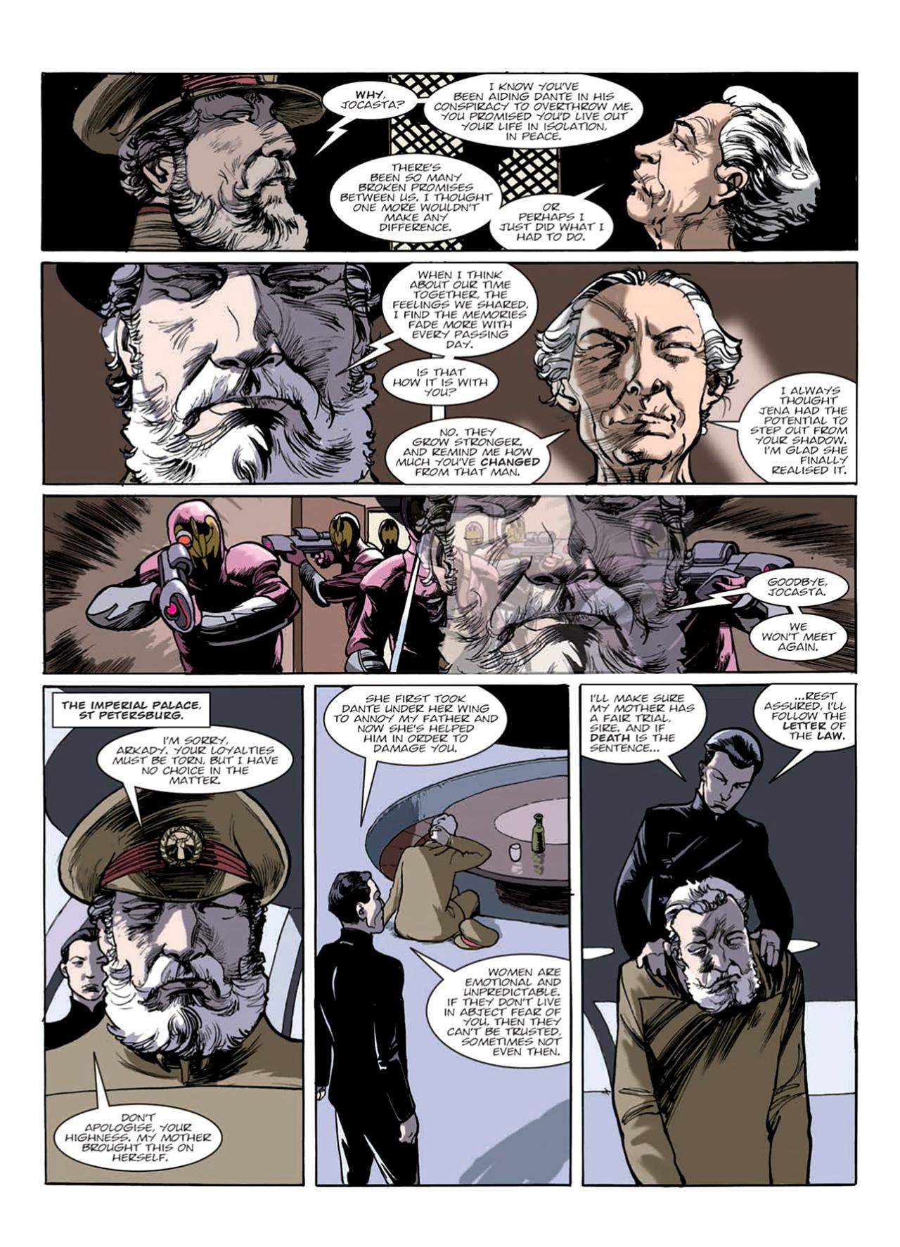Read online Nikolai Dante comic -  Issue # TPB 9 - 126