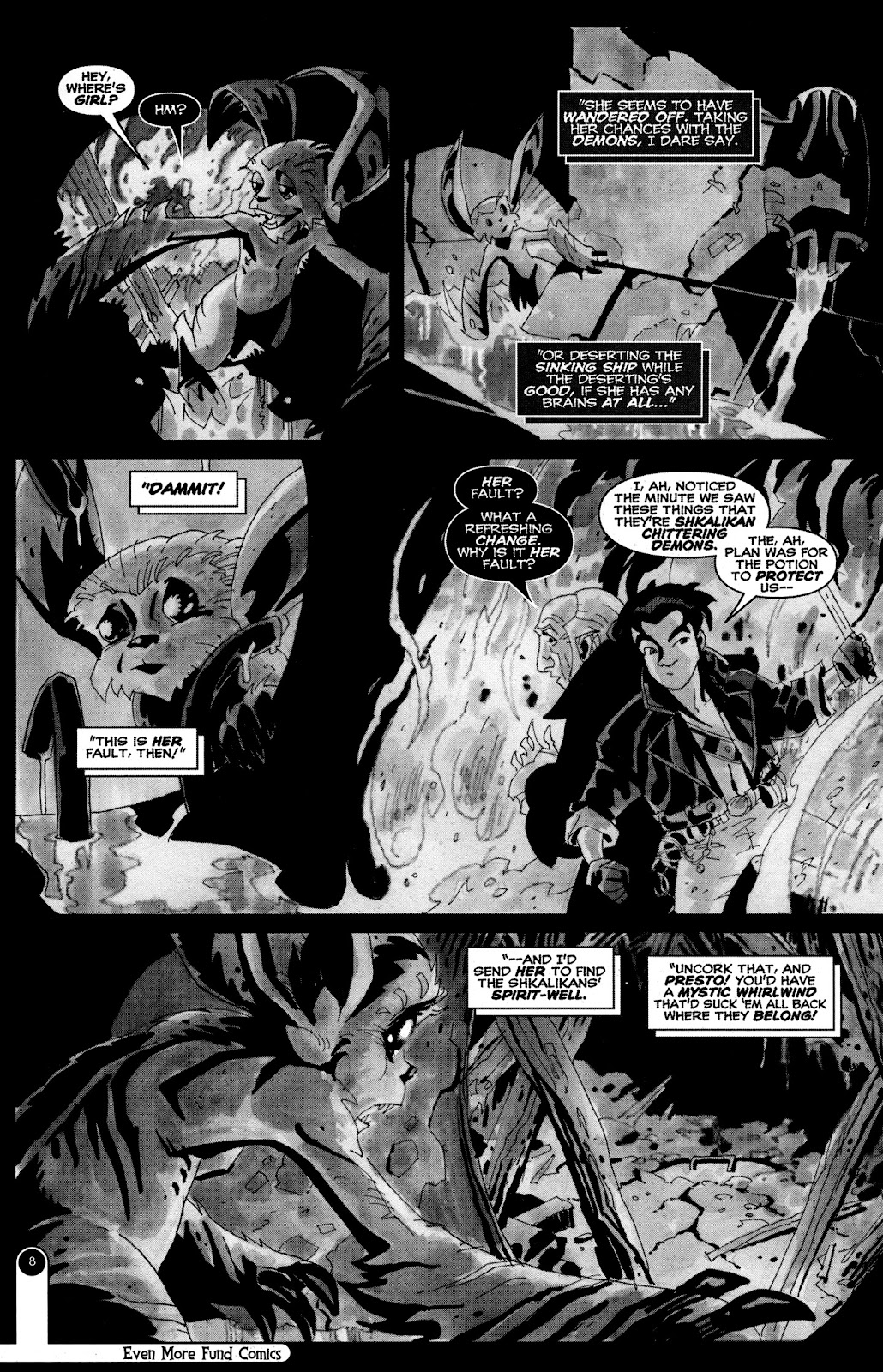 Read online Even More Fund Comics comic -  Issue # TPB (Part 1) - 8