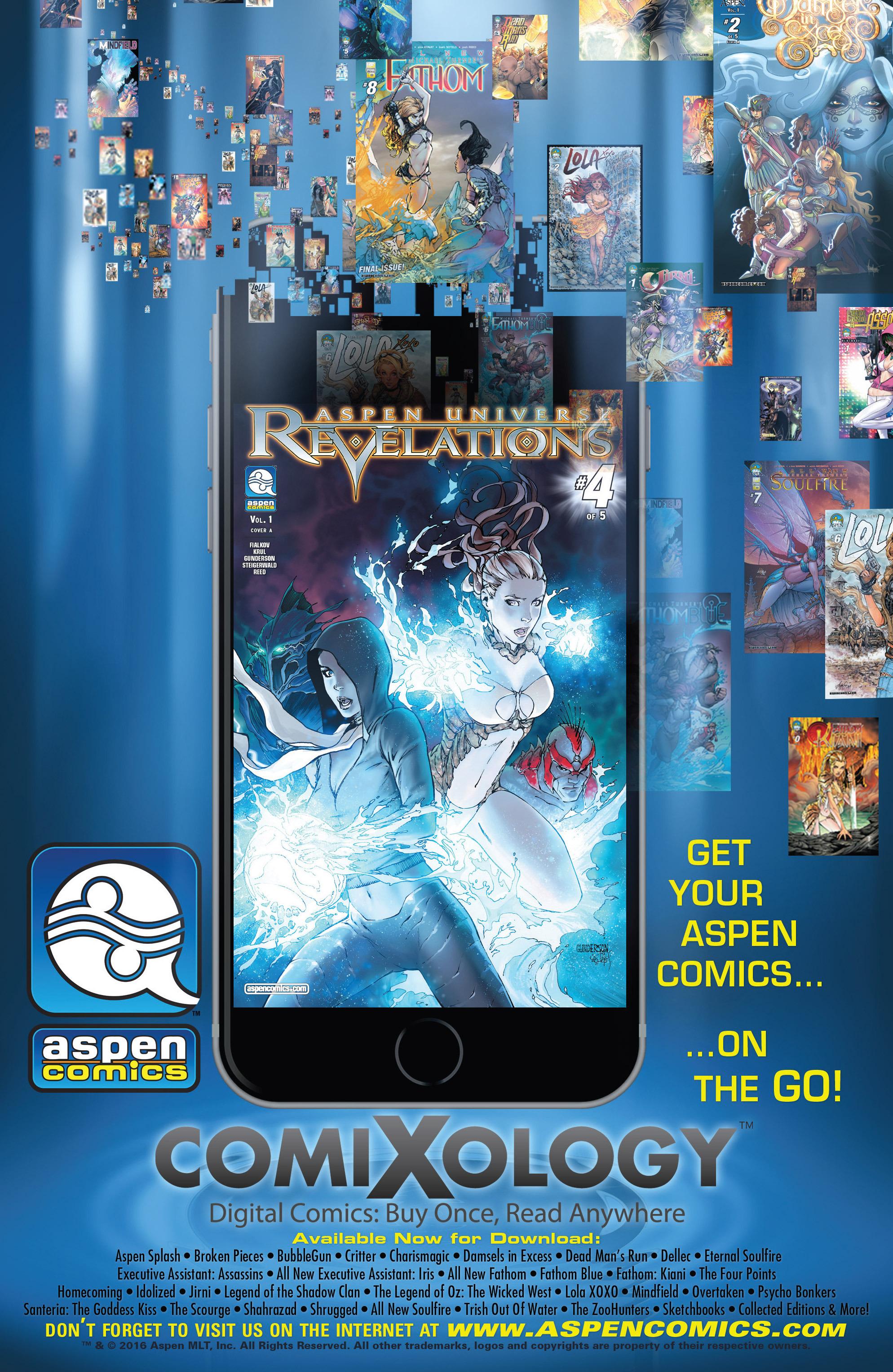 Read online Aspen Universe: Revelations comic -  Issue #4 - 23