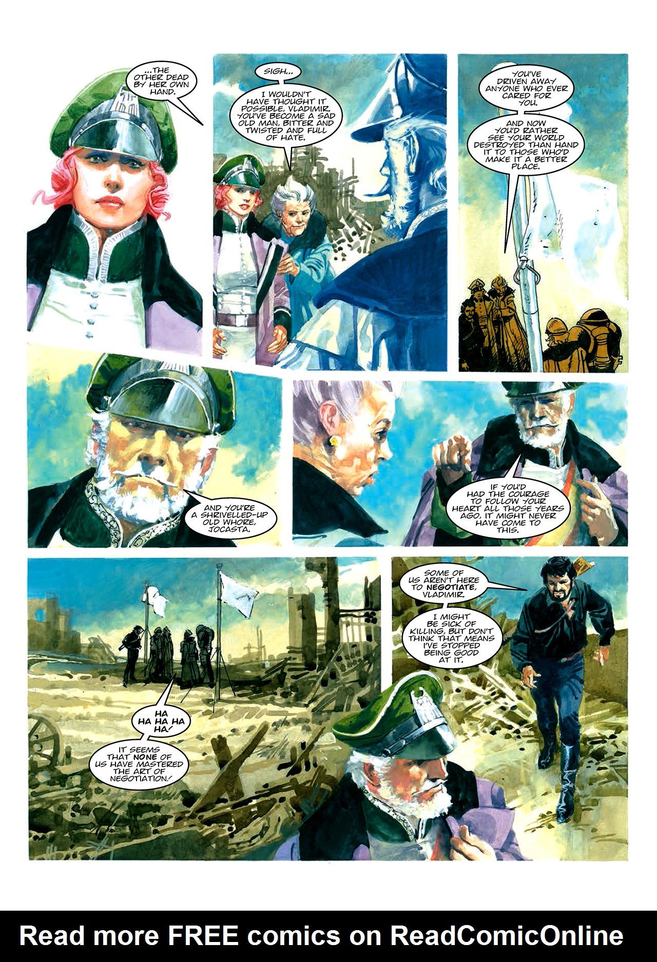 Read online Nikolai Dante comic -  Issue # TPB 10 - 35