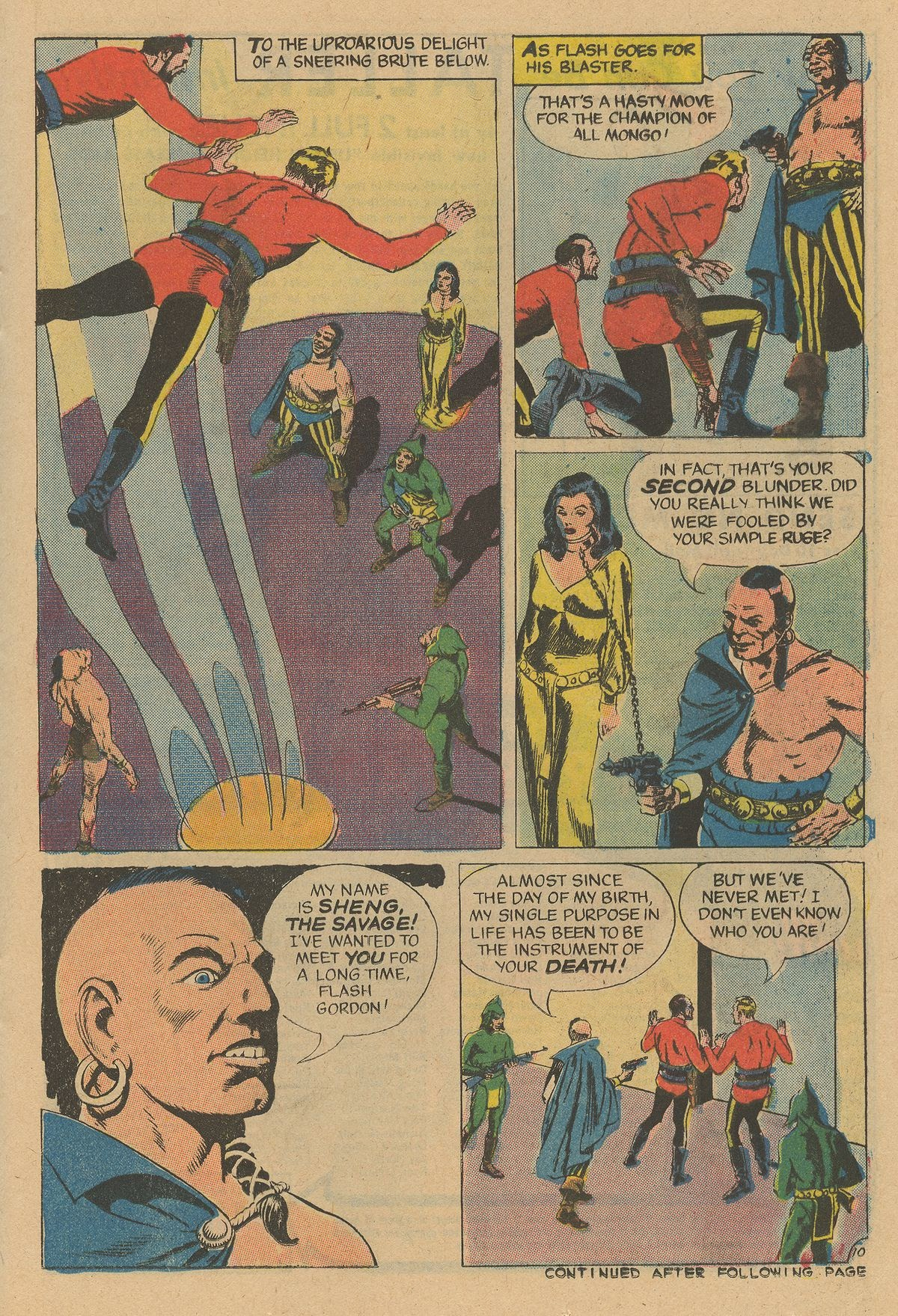 Flash Gordon (1969) issue 12 - Page 13