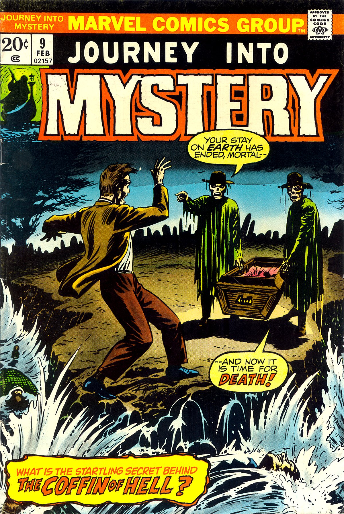 Journey Into Mystery (1972) 9 Page 1