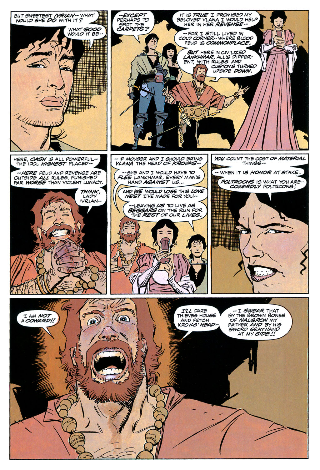 Read online Fafhrd and the Gray Mouser comic -  Issue #1 - 14