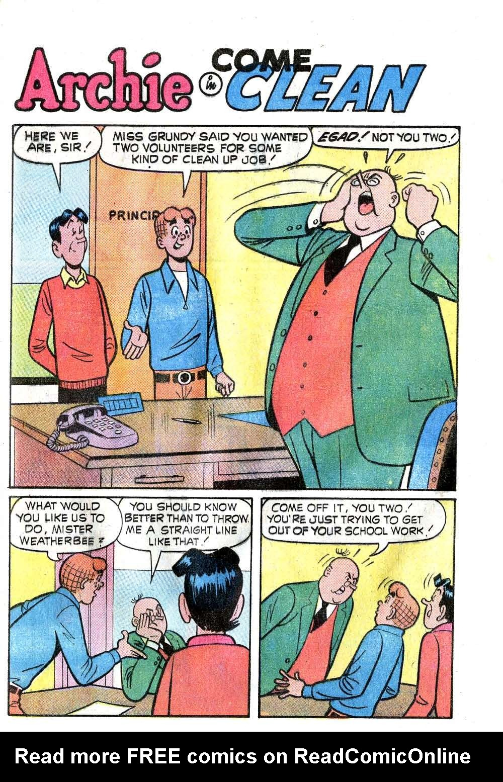 Read online Archie (1960) comic -  Issue #228 - 29