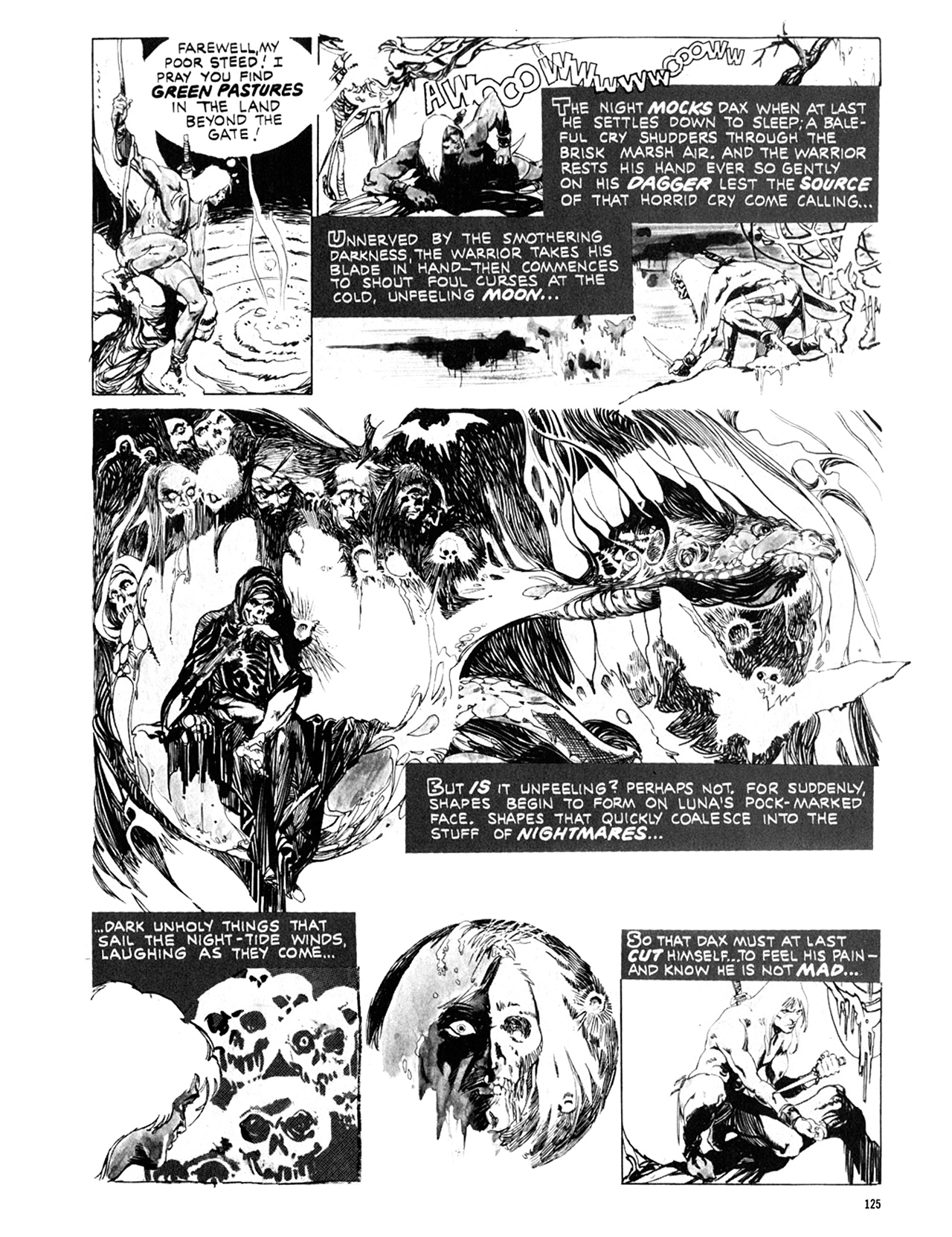 Read online Eerie Archives comic -  Issue # TPB 10 - 126