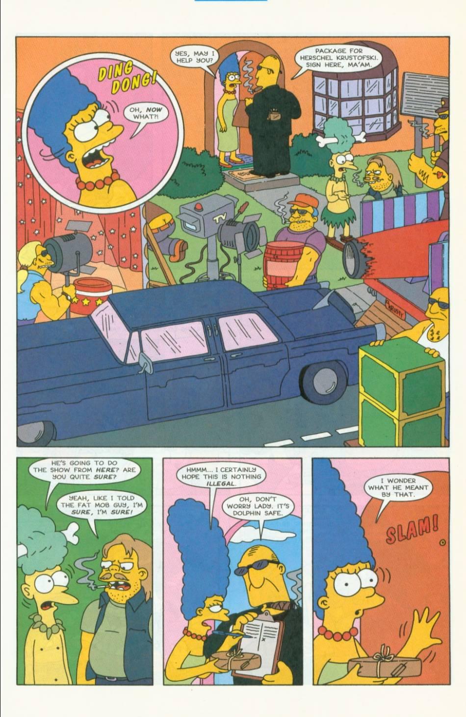 Read online Simpsons Comics comic -  Issue #40 - 10