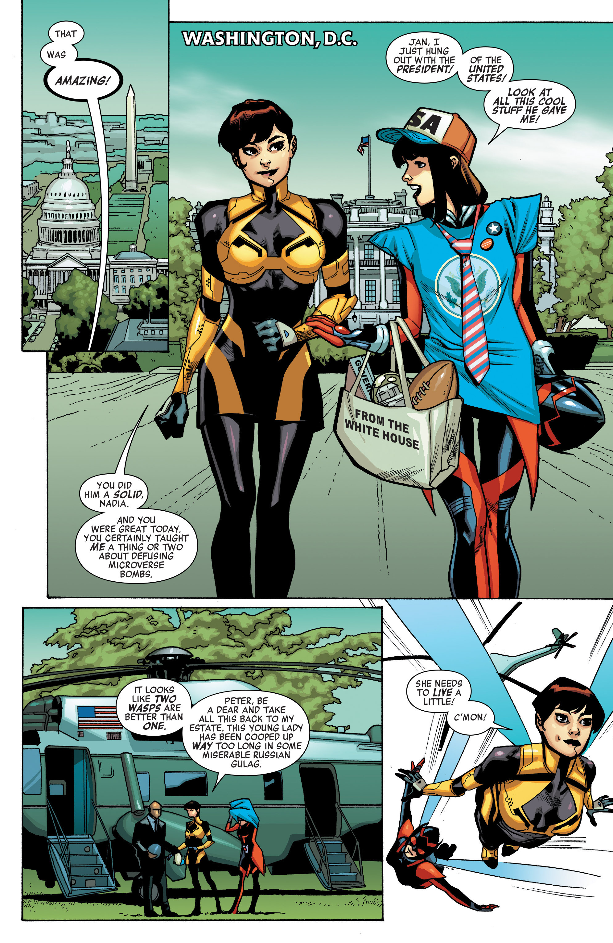 Read online All-New, All-Different Avengers comic -  Issue #12 - 9