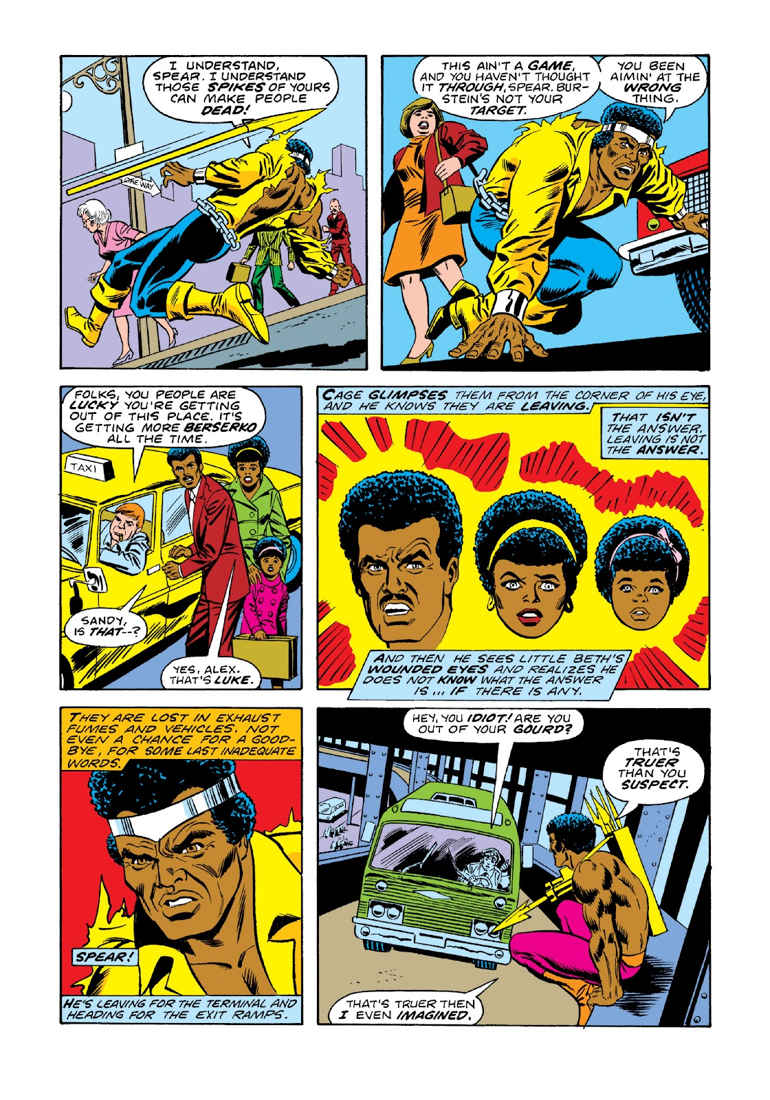 Read online Marvel Masterworks: Luke Cage, Power Man comic -  Issue # TPB 3 (Part 1) - 77