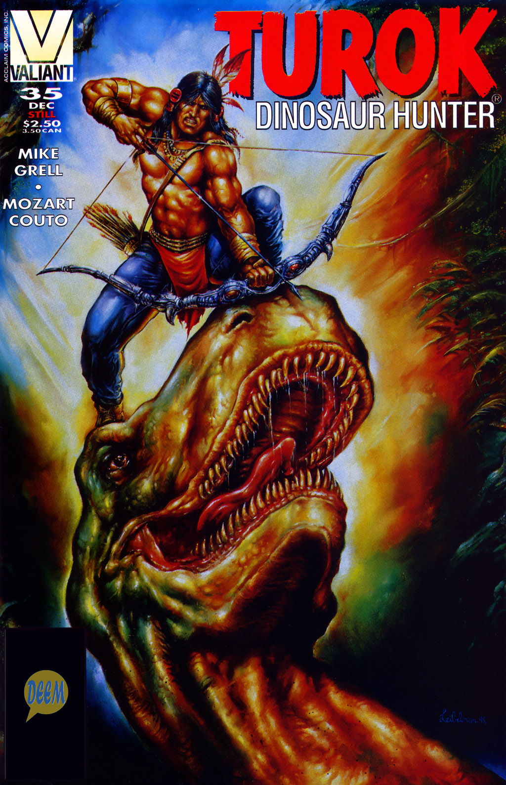 Read online Turok, Dinosaur Hunter (1993) comic -  Issue #35 - 1