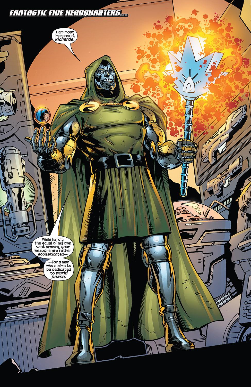 Read online Fantastic Five (2007) comic -  Issue #3 - 4