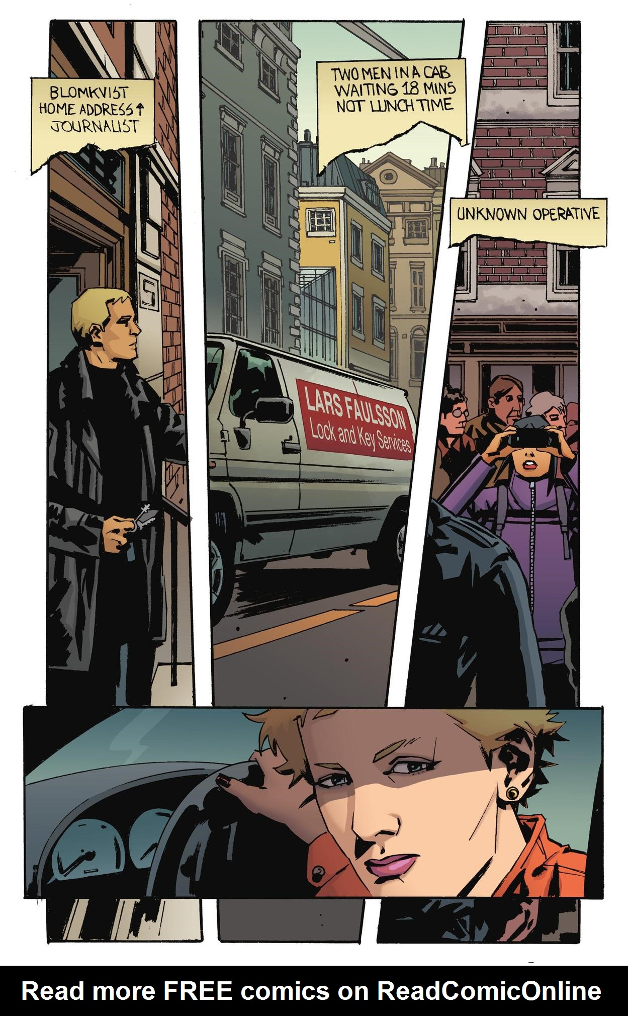 Read online The Girl Who Kicked The Hornet's Nest comic -  Issue # TPB - 160