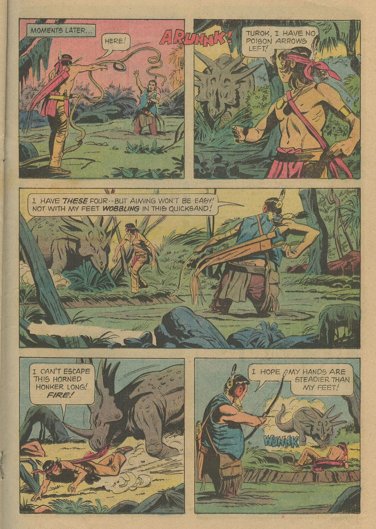 Read online Turok, Son of Stone comic -  Issue #103 - 21