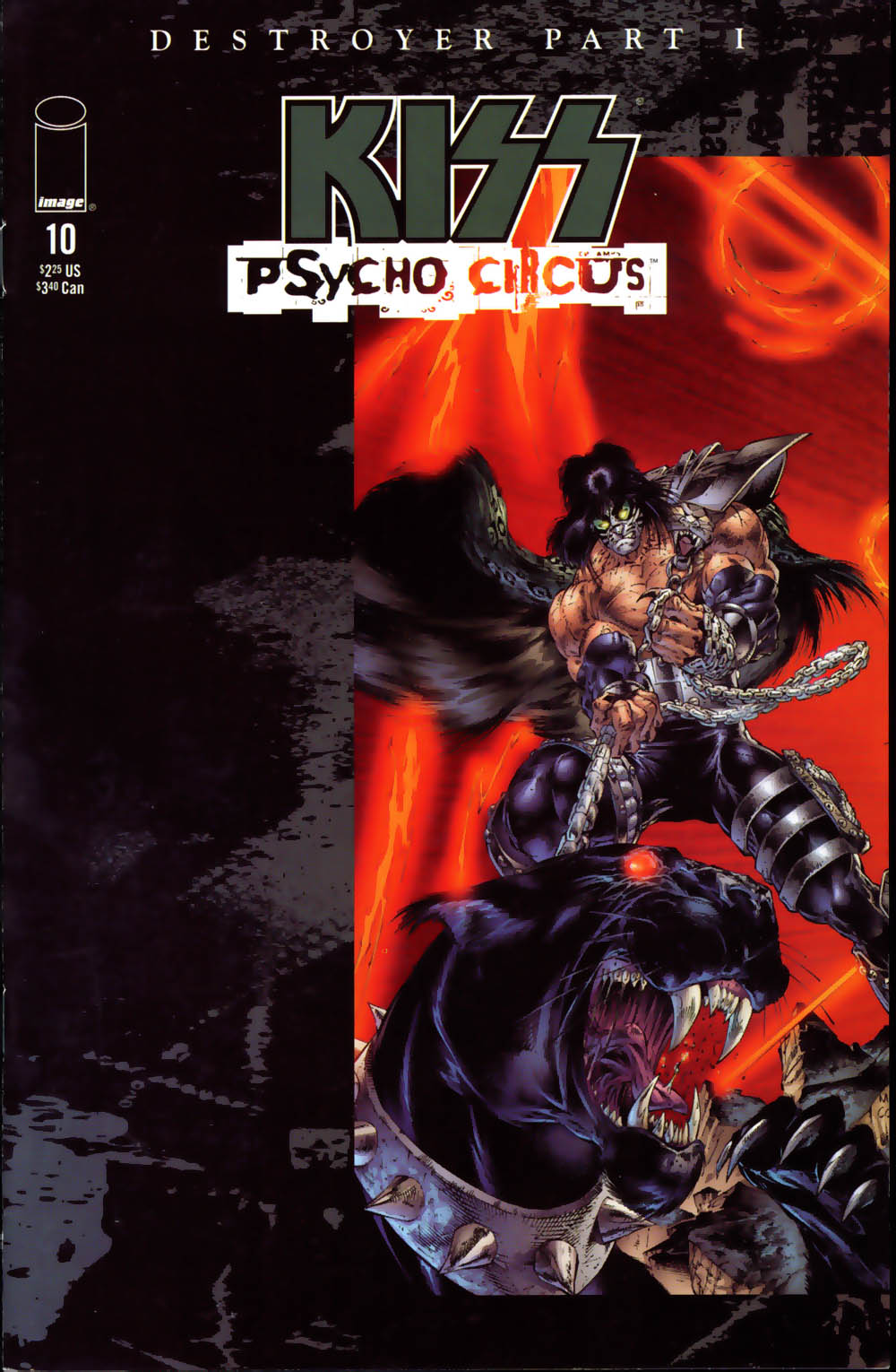 KISS: Psycho Circus issue 10 - Page 1