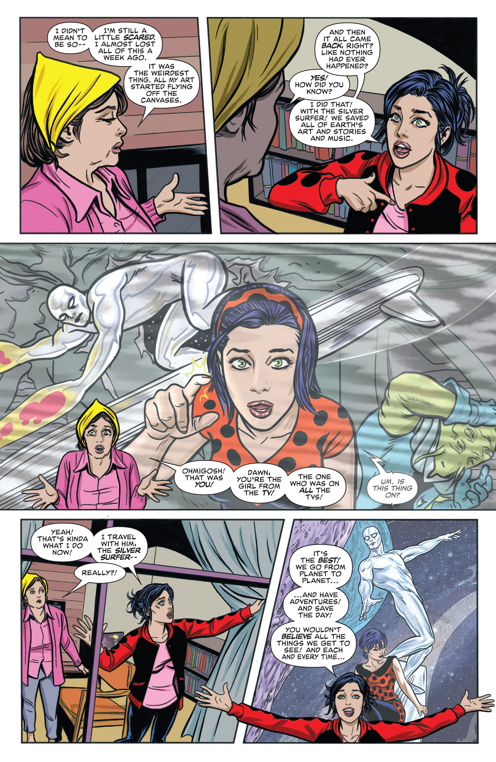 Read online Silver Surfer (2016) comic -  Issue #6 - 11