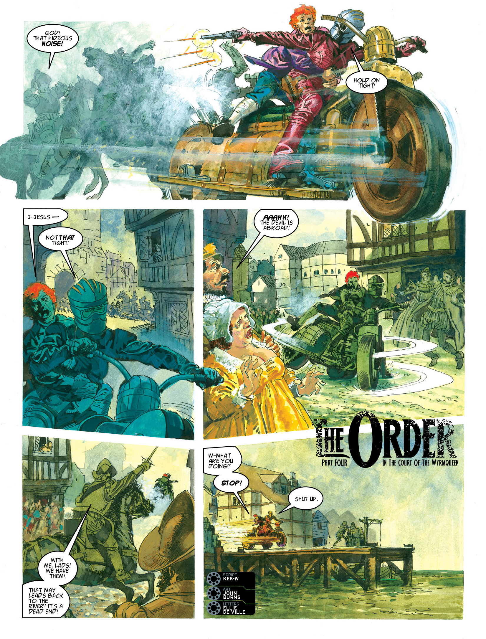 Read online 2000 AD comic -  Issue #1964 - 14