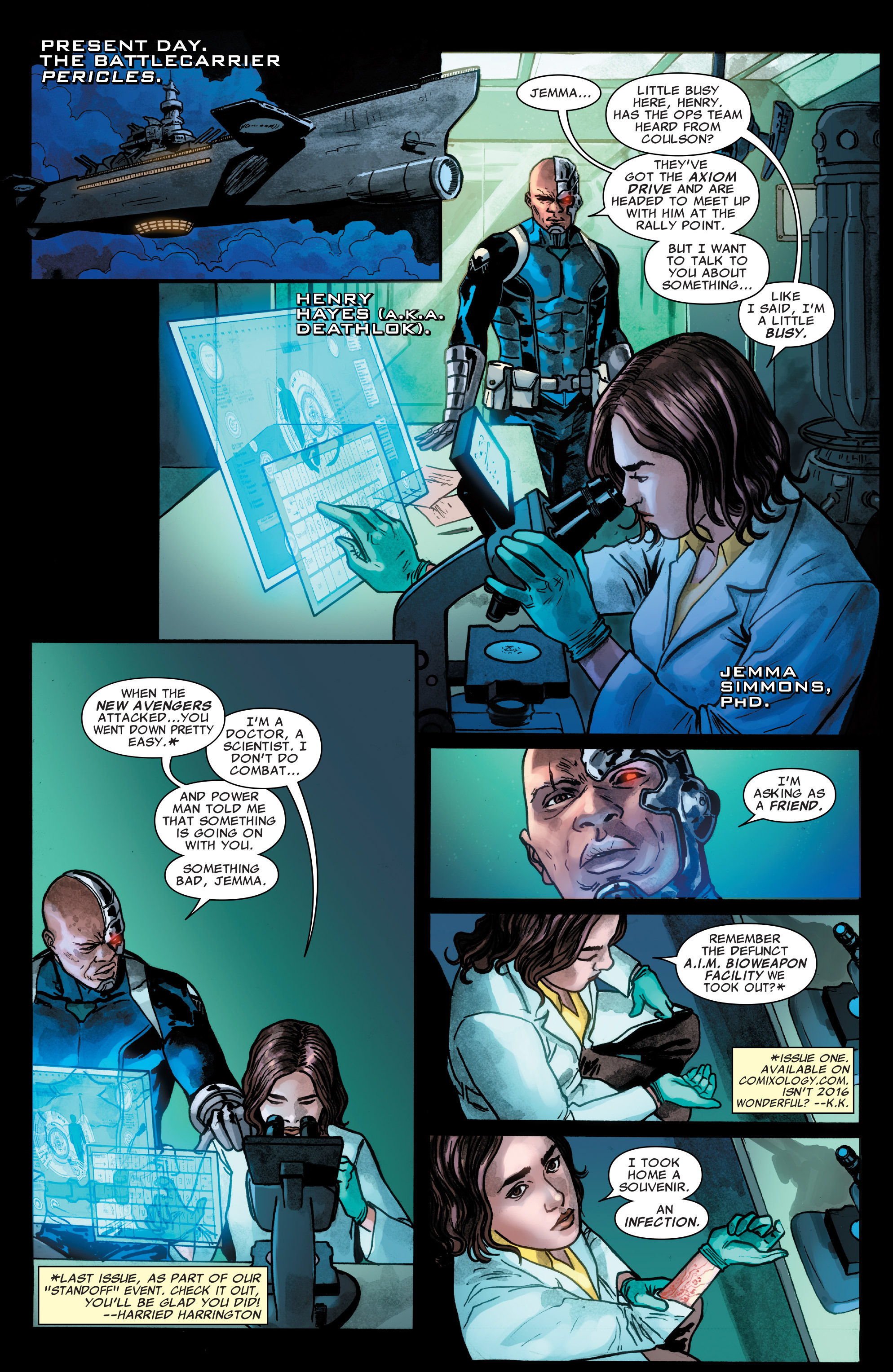 Read online Agents of S.H.I.E.L.D. comic -  Issue #5 - 7