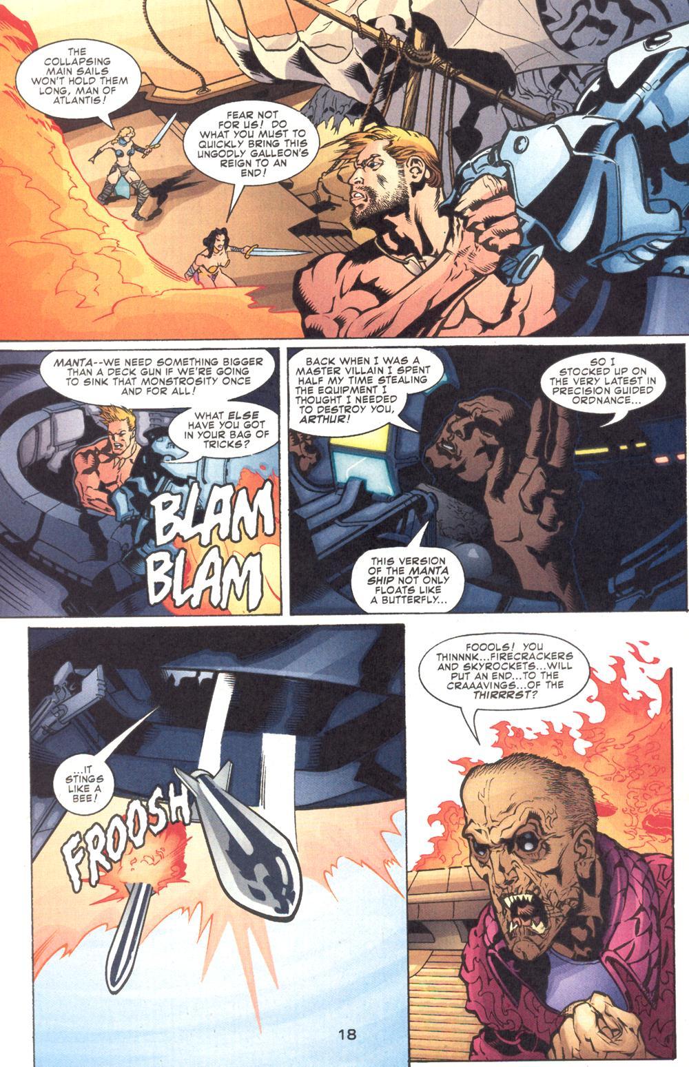 Read online Aquaman (2003) comic -  Issue #9 - 20