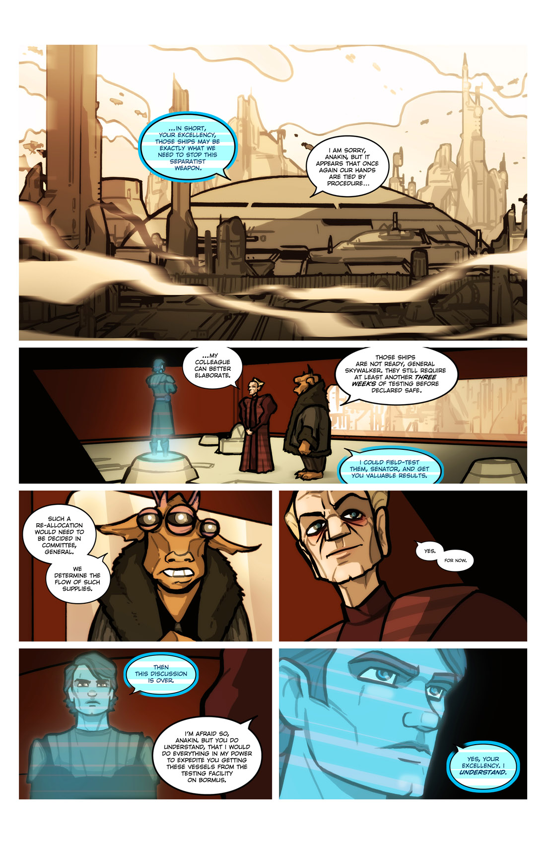 Read online Star Wars: Tales From The Clone Wars comic -  Issue # TPB - 19