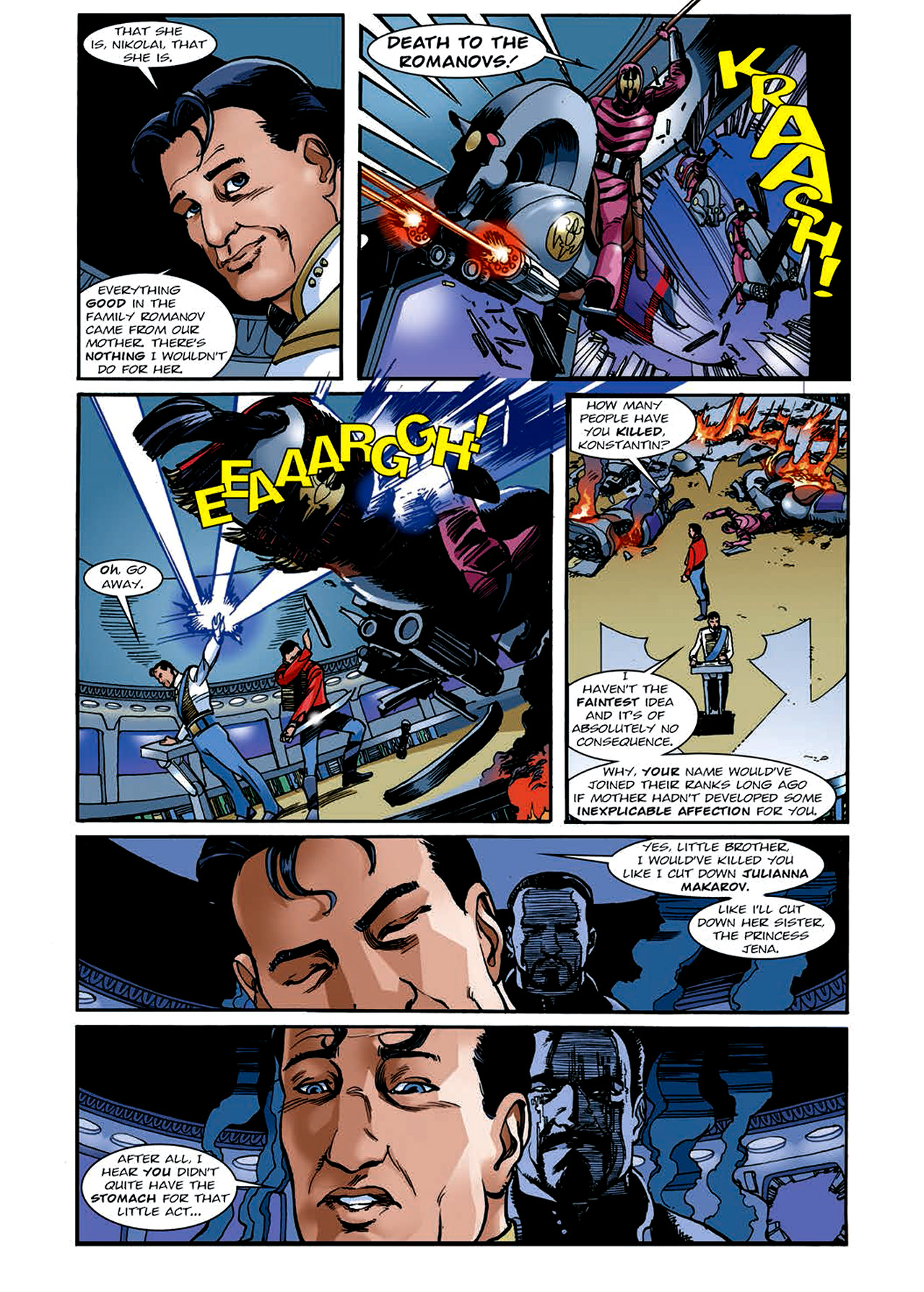 Read online Nikolai Dante comic -  Issue # TPB 4 - 146
