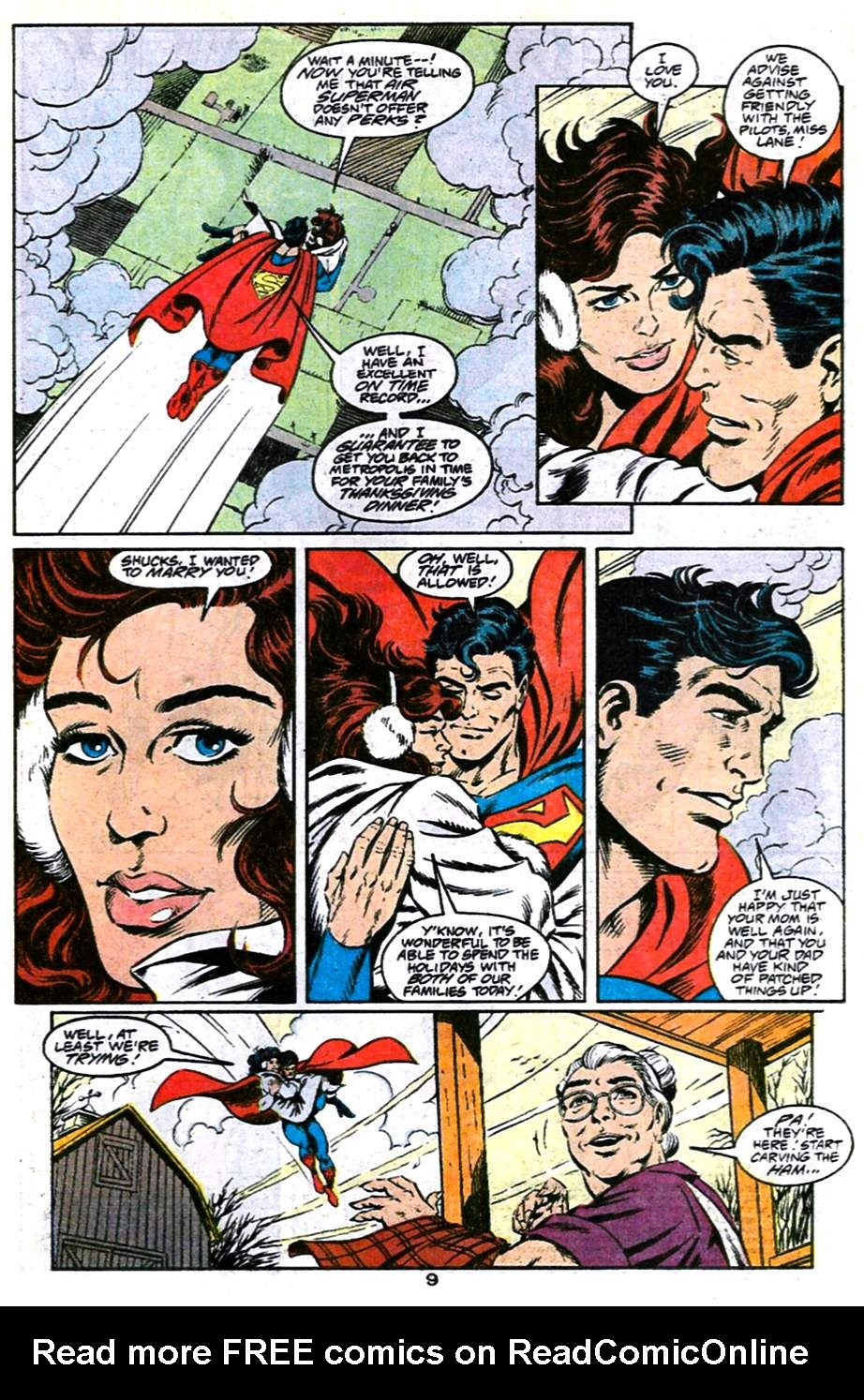 Read online Adventures of Superman (1987) comic -  Issue #486 - 10