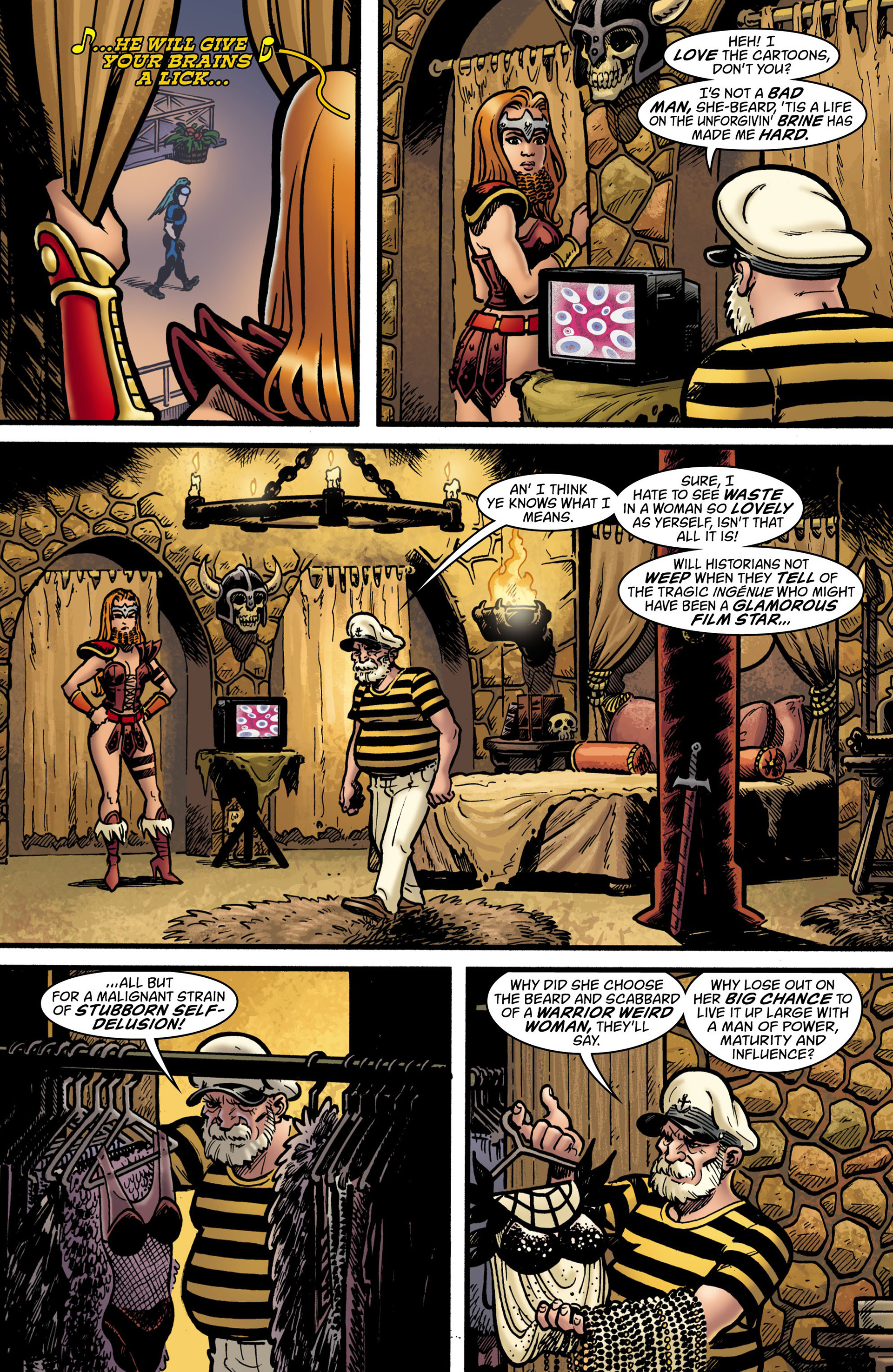 Read online Seaguy: The Slaves of Mickey Eye comic -  Issue #1 - 7