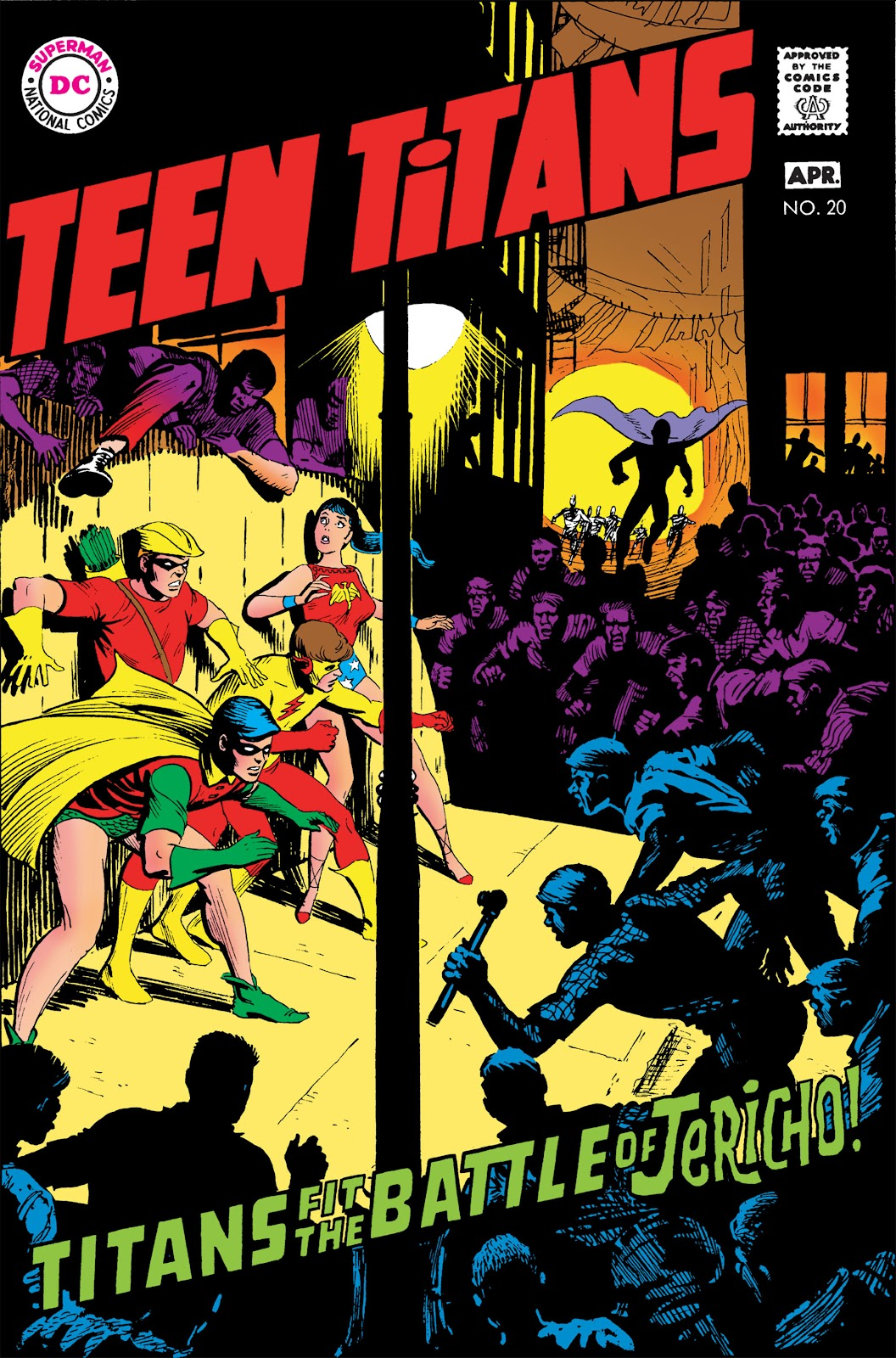 Teen Titans (1966) issue 20 - Page 1