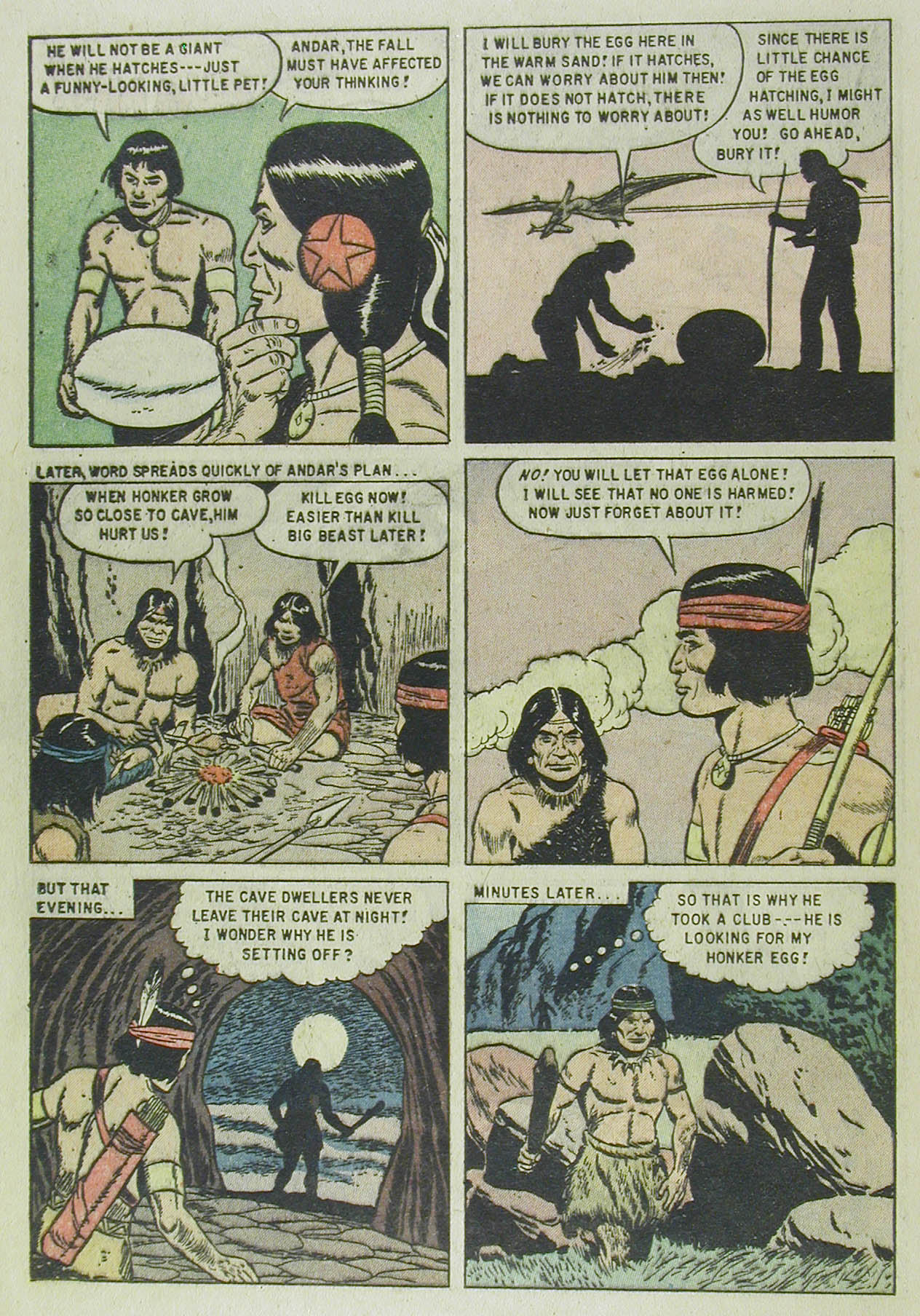 Read online Turok, Son of Stone comic -  Issue #13 - 24