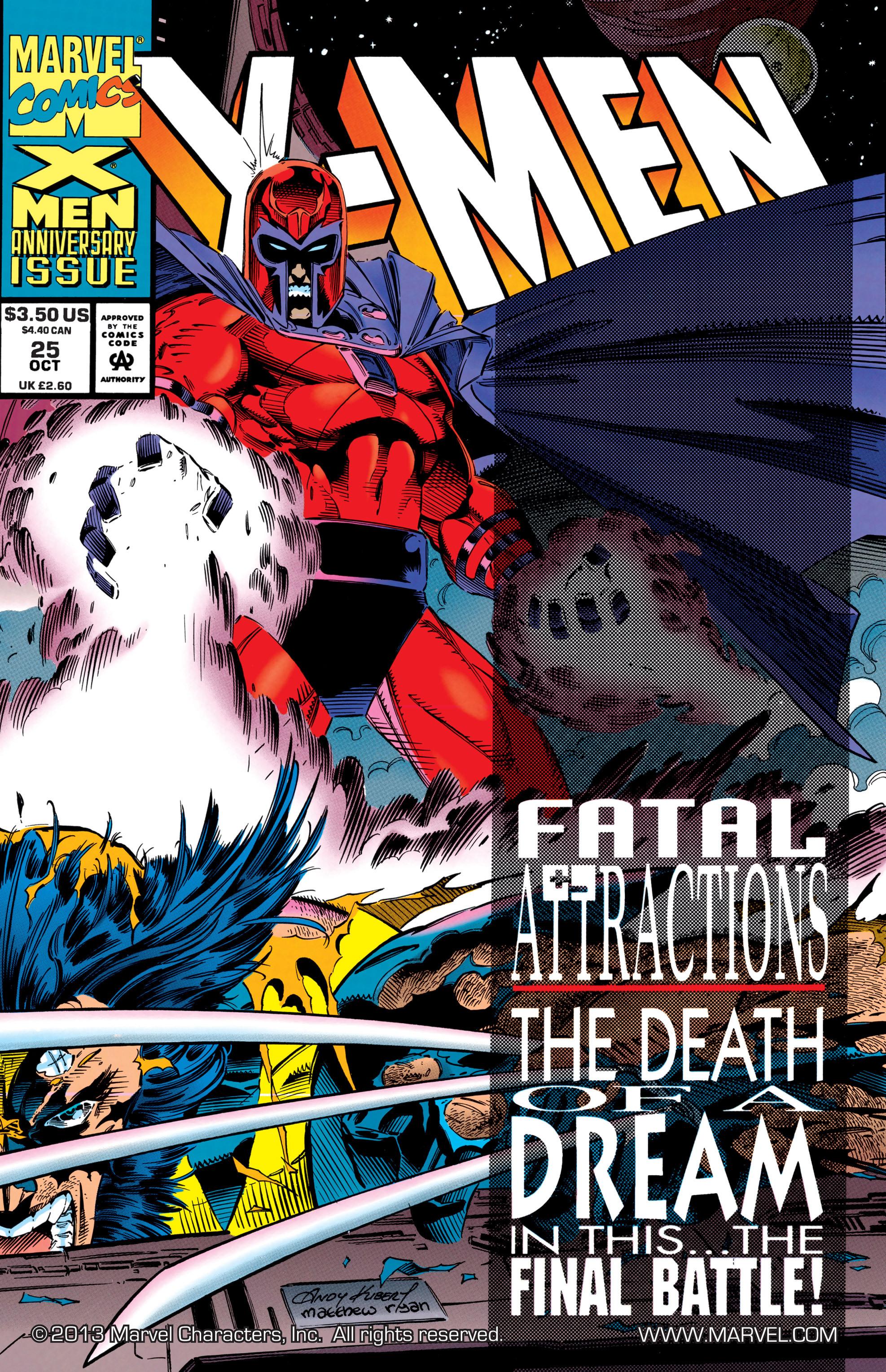 X-Men (1991) 25 Page 0