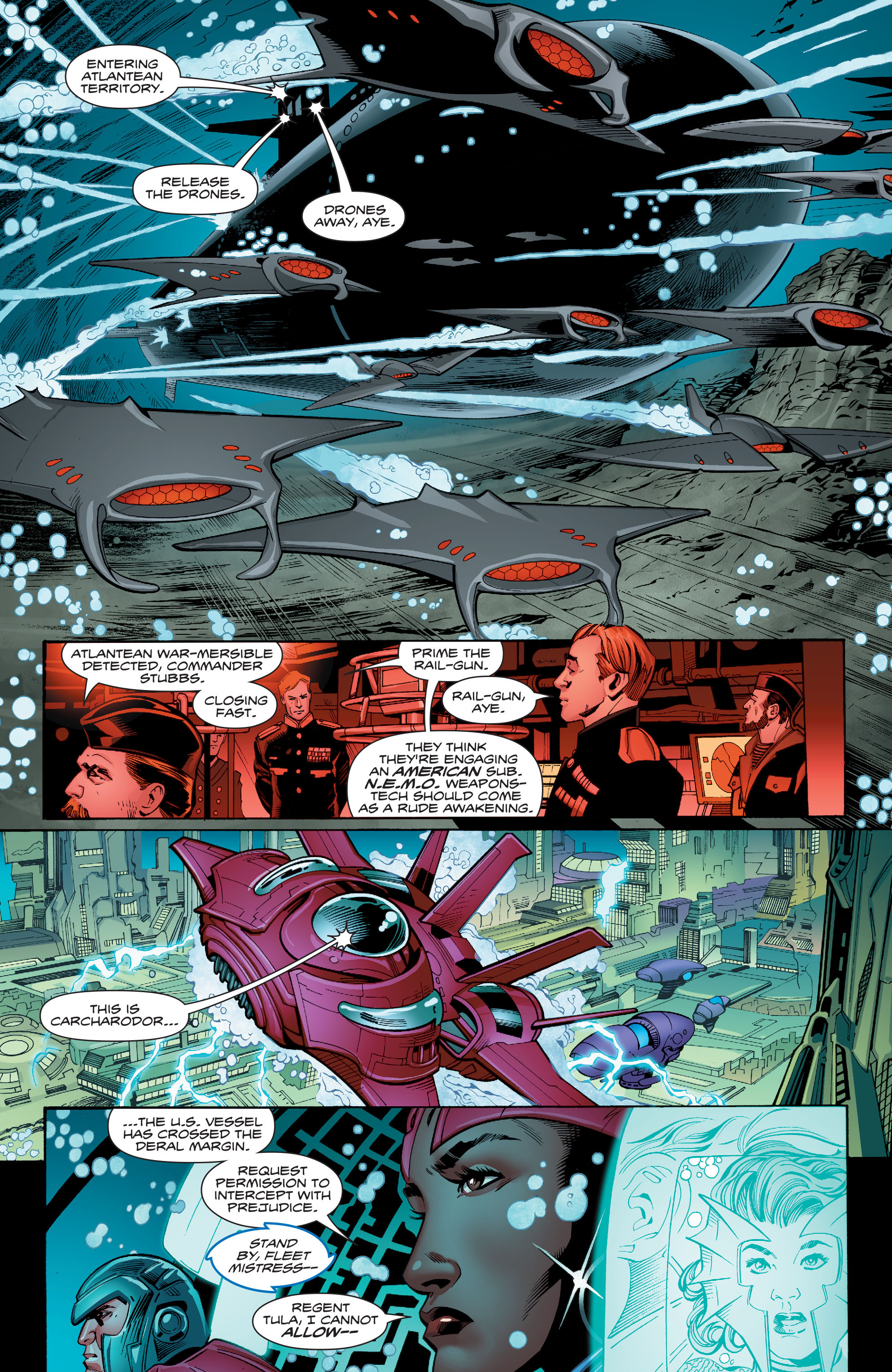 Read online Aquaman (2016) comic -  Issue #13 - 7