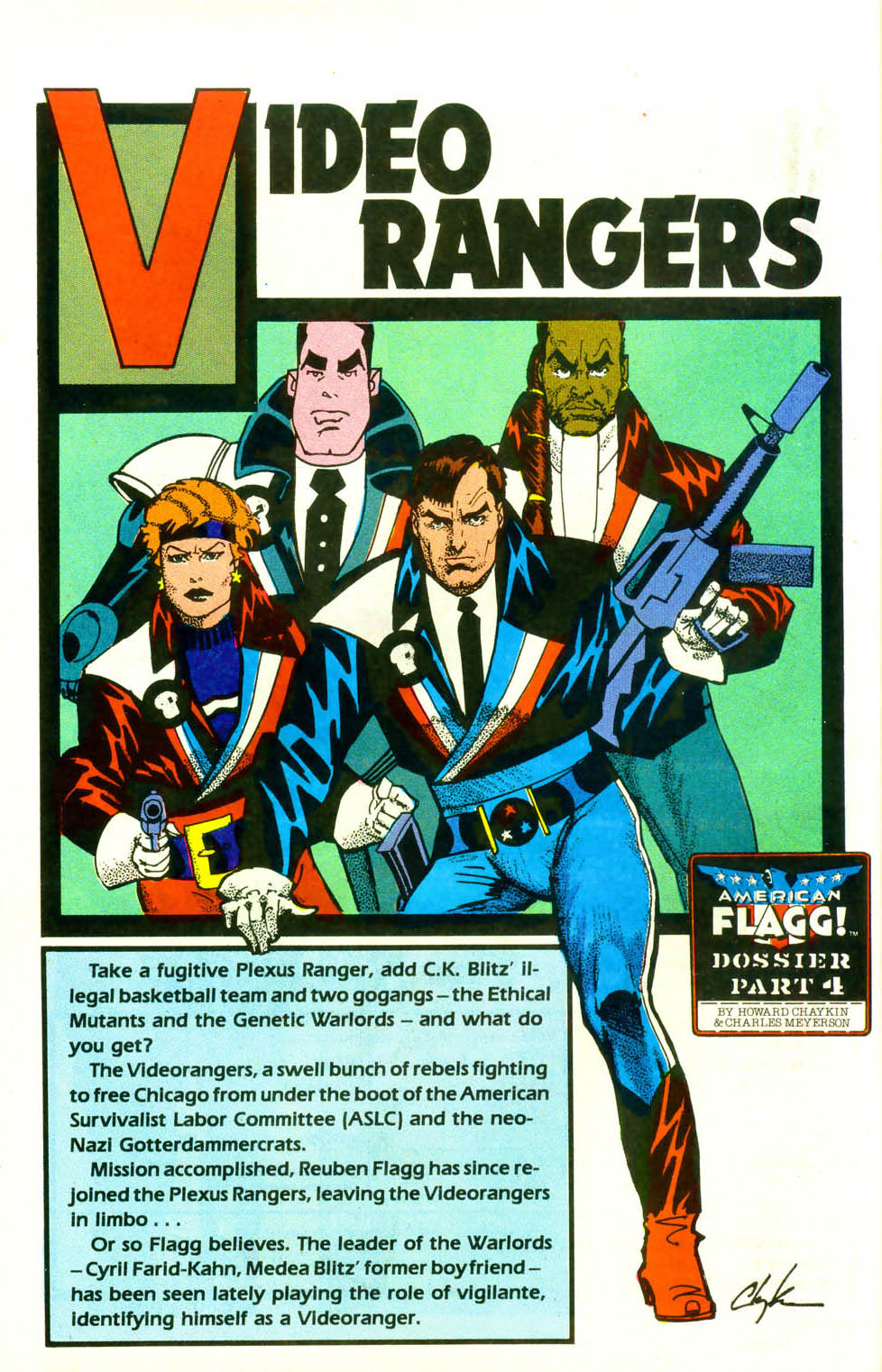 Read online American Flagg! comic -  Issue #18 - 24