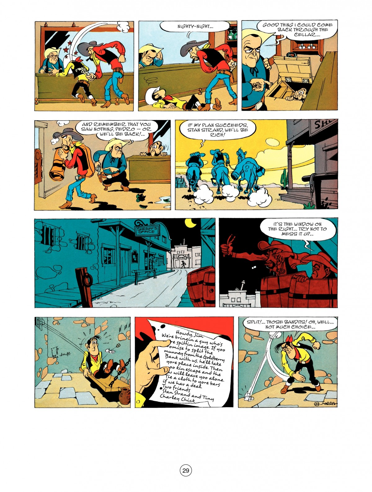 Read online A Lucky Luke Adventure comic -  Issue #48 - 29