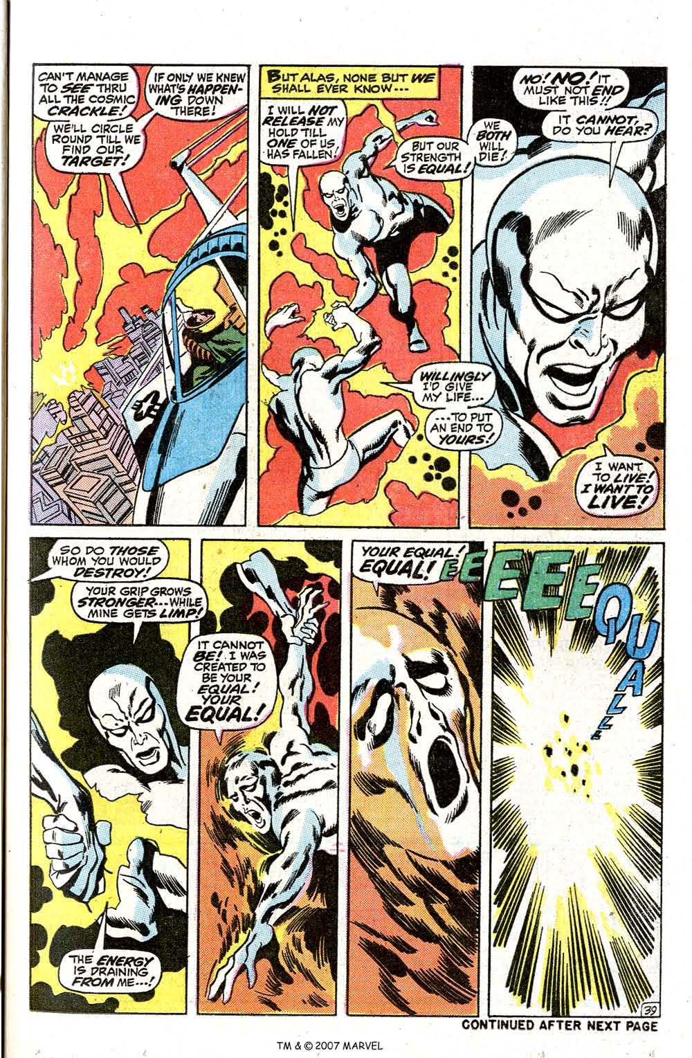 Read online Silver Surfer (1968) comic -  Issue #7 - 47