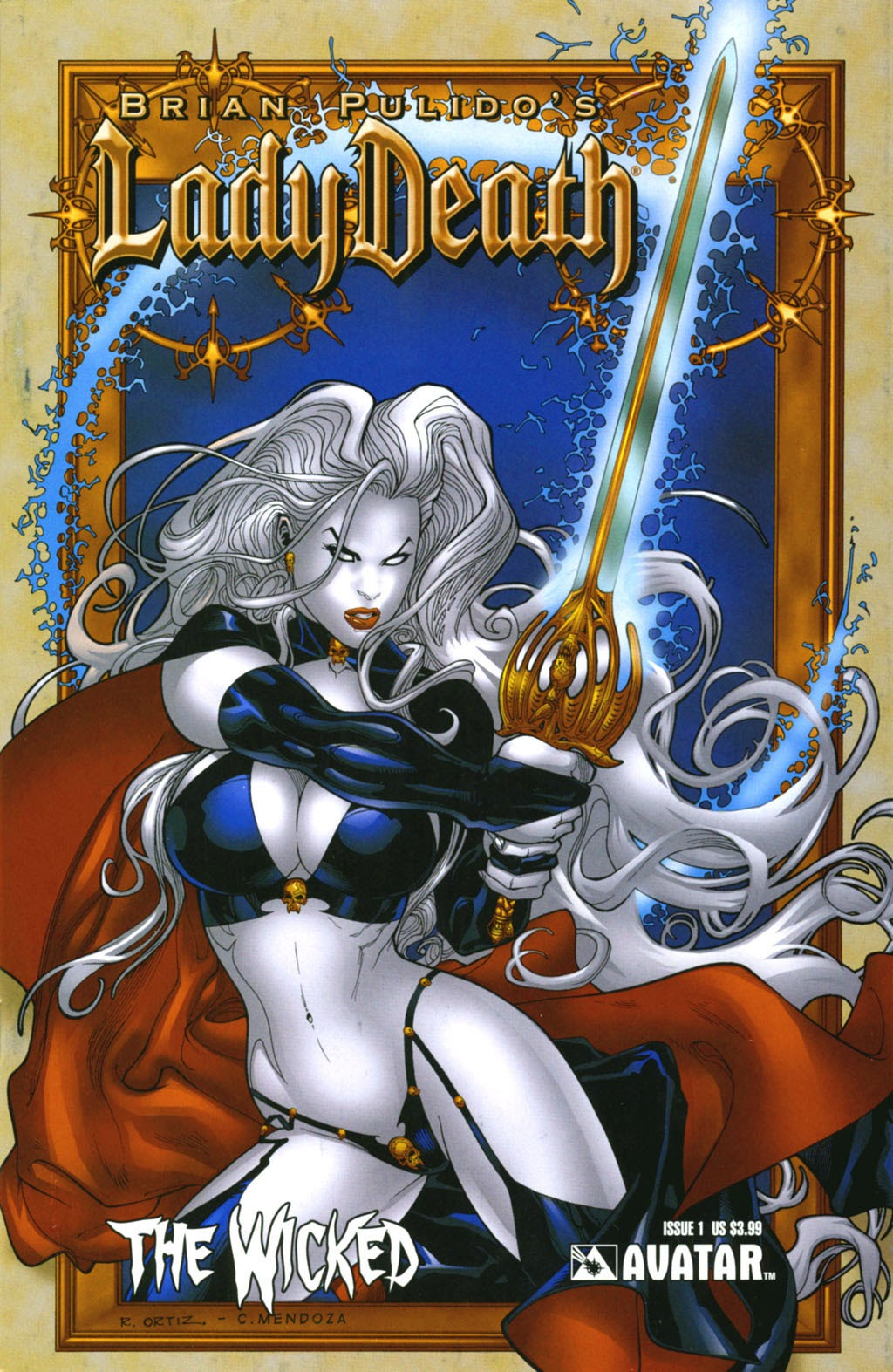 Read online Lady Death: The Wicked comic -  Issue #1 - 1
